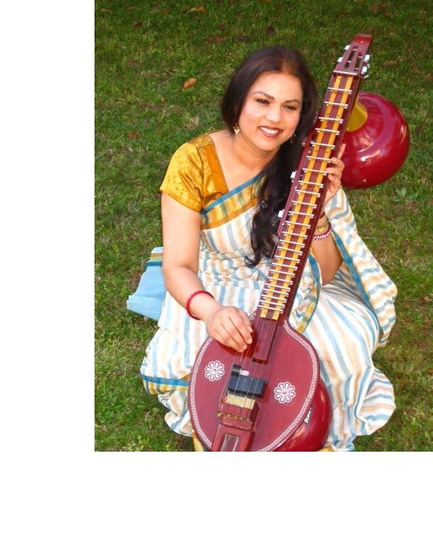 Sara Ranganathan, of Schaumburg, runs Ensemble of Ragas, a music school that teaches the veena, an ancient Indian stringed instrument.