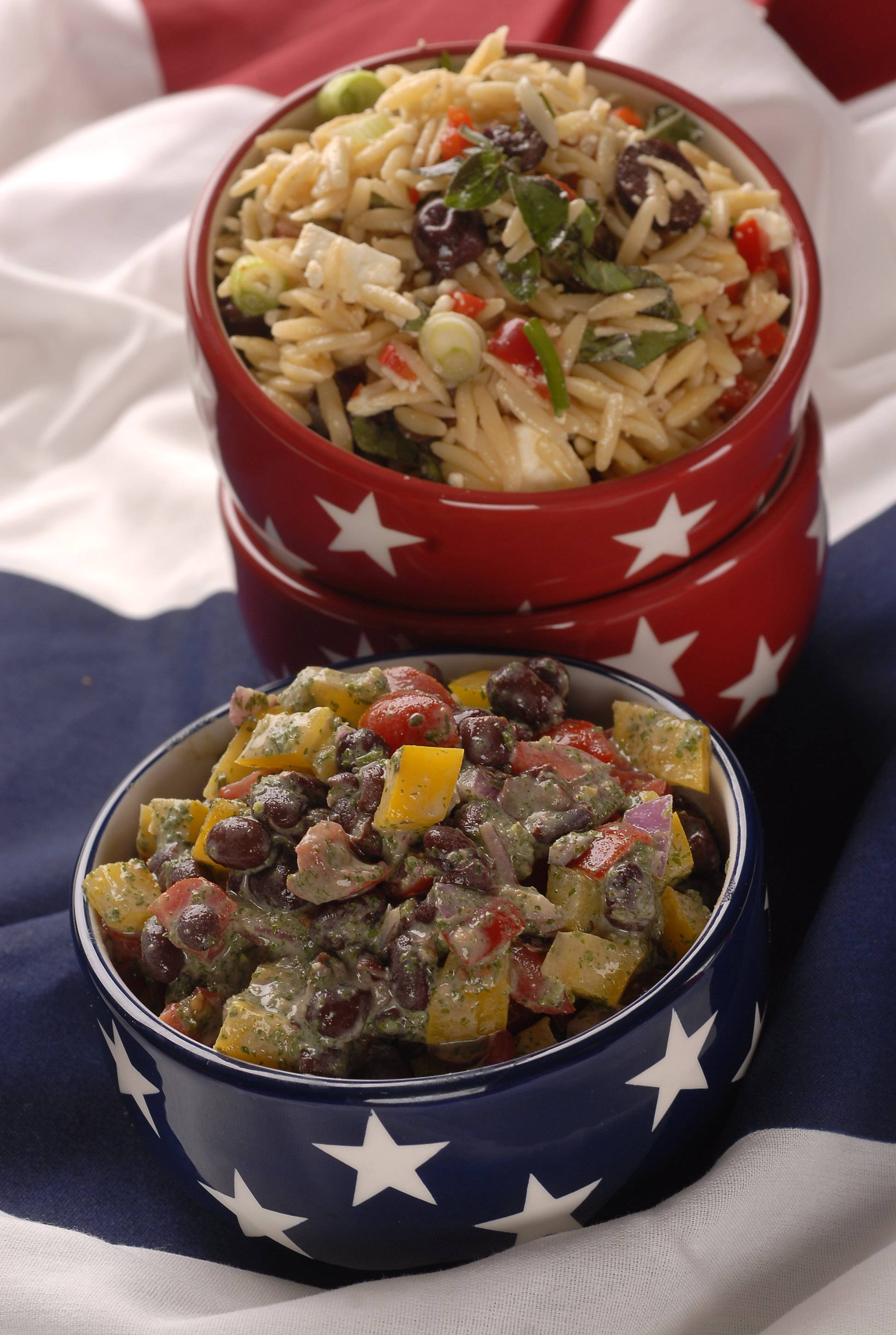 Grecian Orzo Salad is one of Deborah Pankey's favorite summer side dishes, and is sure to become one of yours.