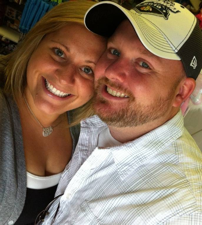 The St. Charles-centric love story of Kevin Bastian of Lisle (pictured with girlfriend Suzie) struck a chord with online voters in the St. Charles Stories contest.