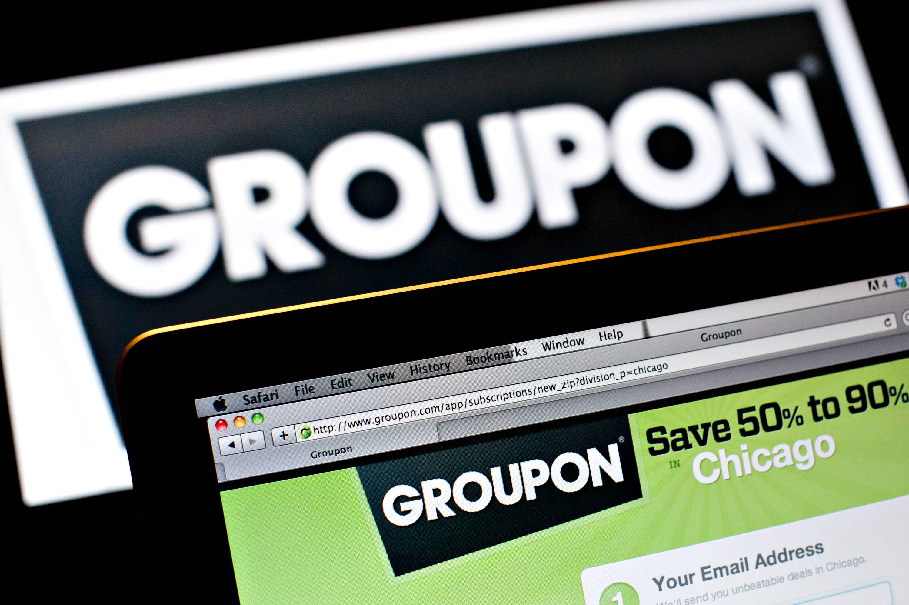 Groupon Inc.'s transition from daily- deal e-mails to e-commerce retail is hitting bumps along the way.