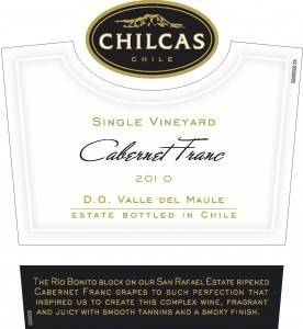 """Single Vineyard"" Cabernet Franc from Chilcas in Valle del Maule, Chile is Mary Ross' wine of the week."