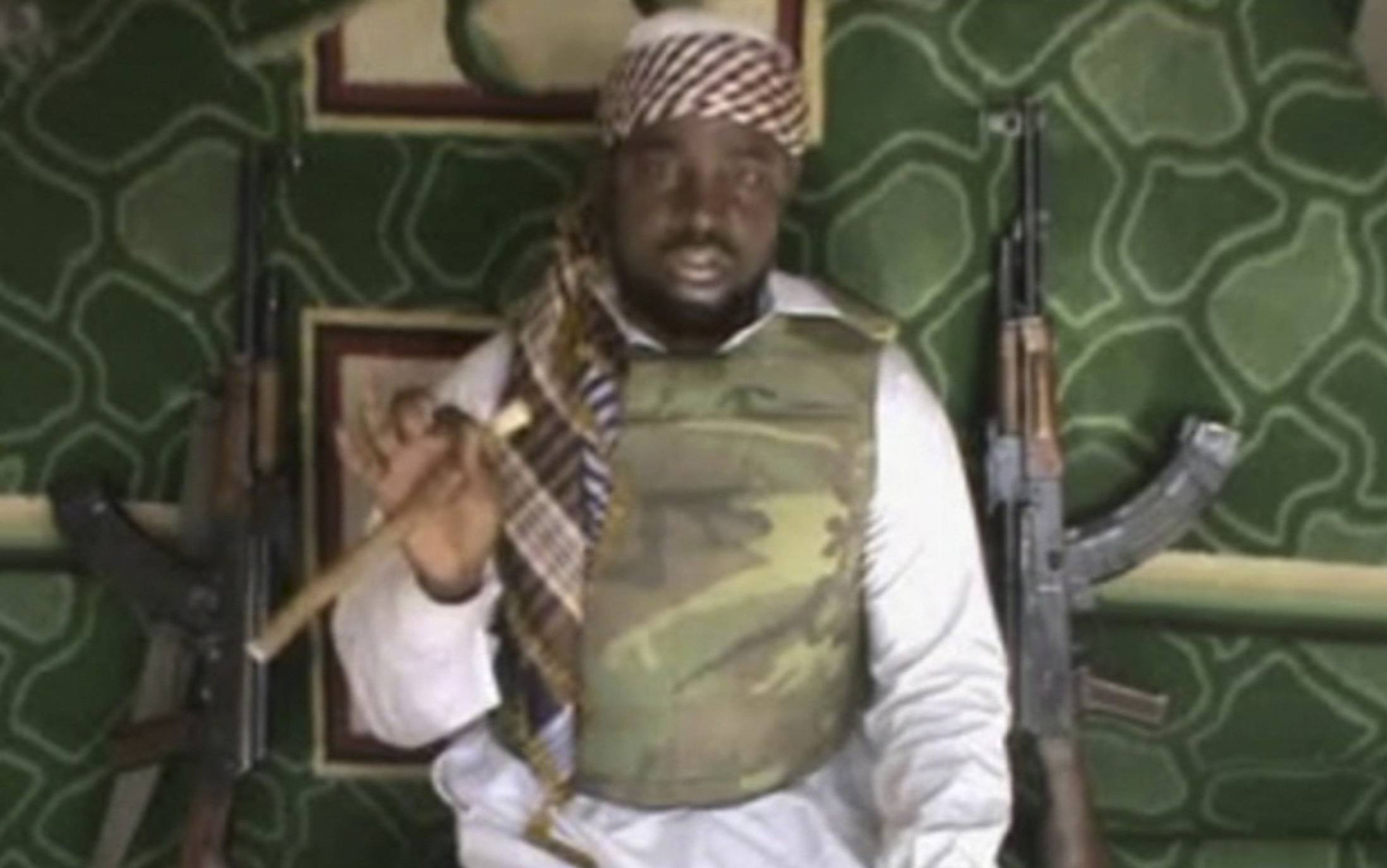 This still image is taken from a video posted by Boko Haram sympathizers, showing the leader of the radical Islamist sect, Imam Abubakar Shekau. Boko Haram has claimed responsibility for the April 15 mass abduction of nearly 300 teenage schoolgirls in northeast Nigeria.