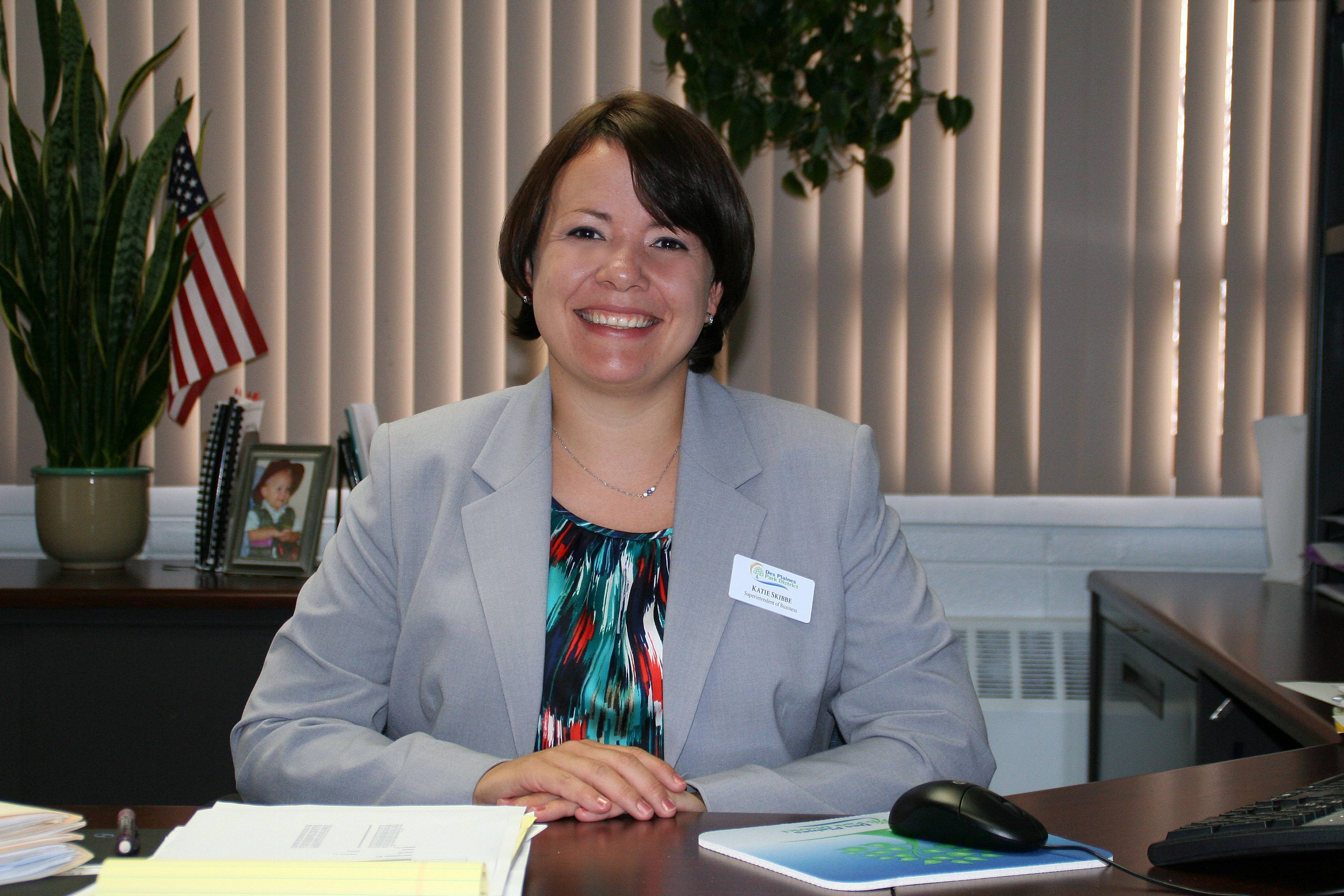 Katie Skibbe, the new Superintendent of Business effective May 1.Lisa Haring