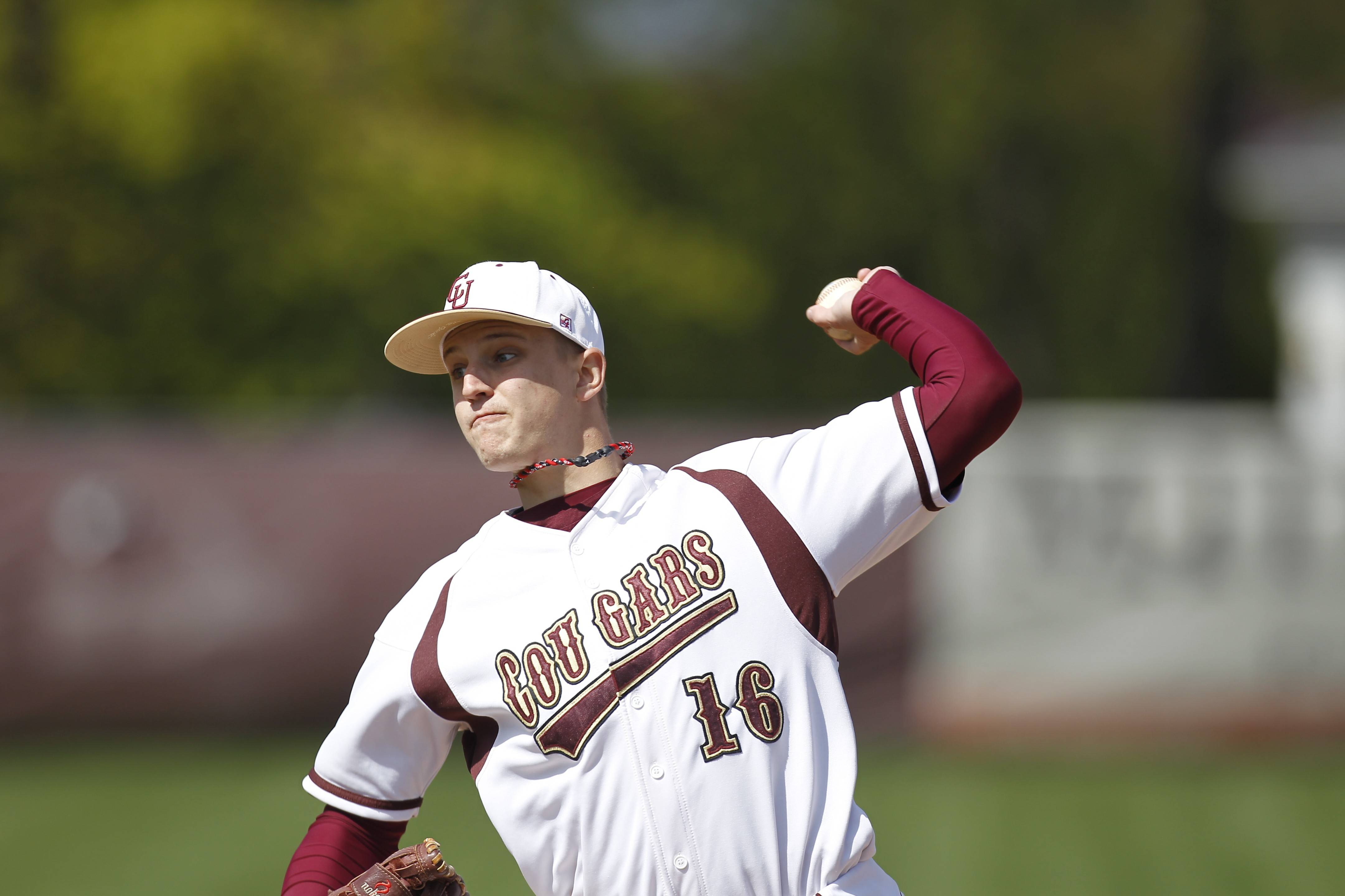 Kurt Kempema delivers for Concordia in a recent game against Lakeland.