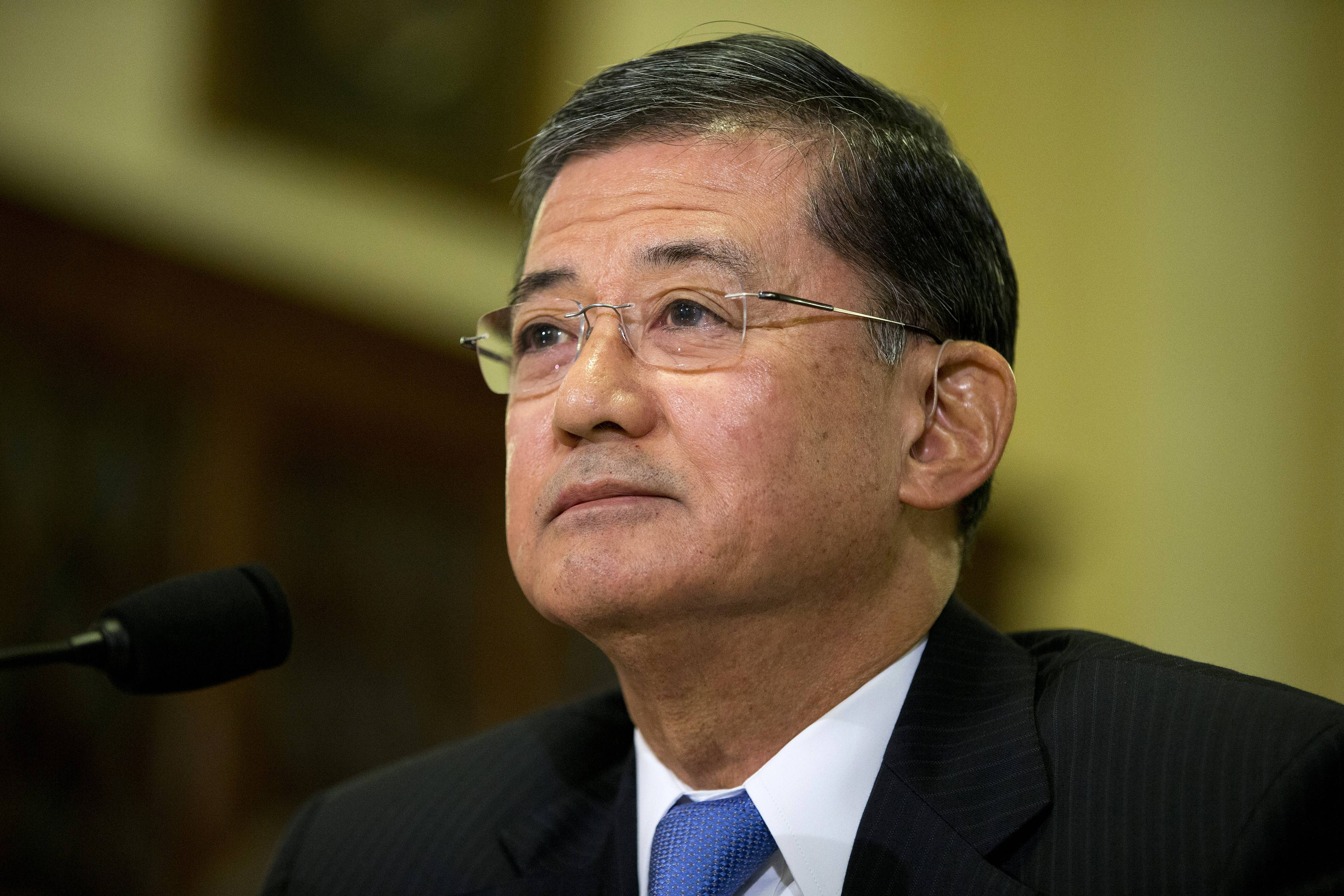 "Veterans Affairs Secretary Eric Shinseki is under fire for what Senate Republican leader Mitch McConnell described as the agency's ""dysfunction."""