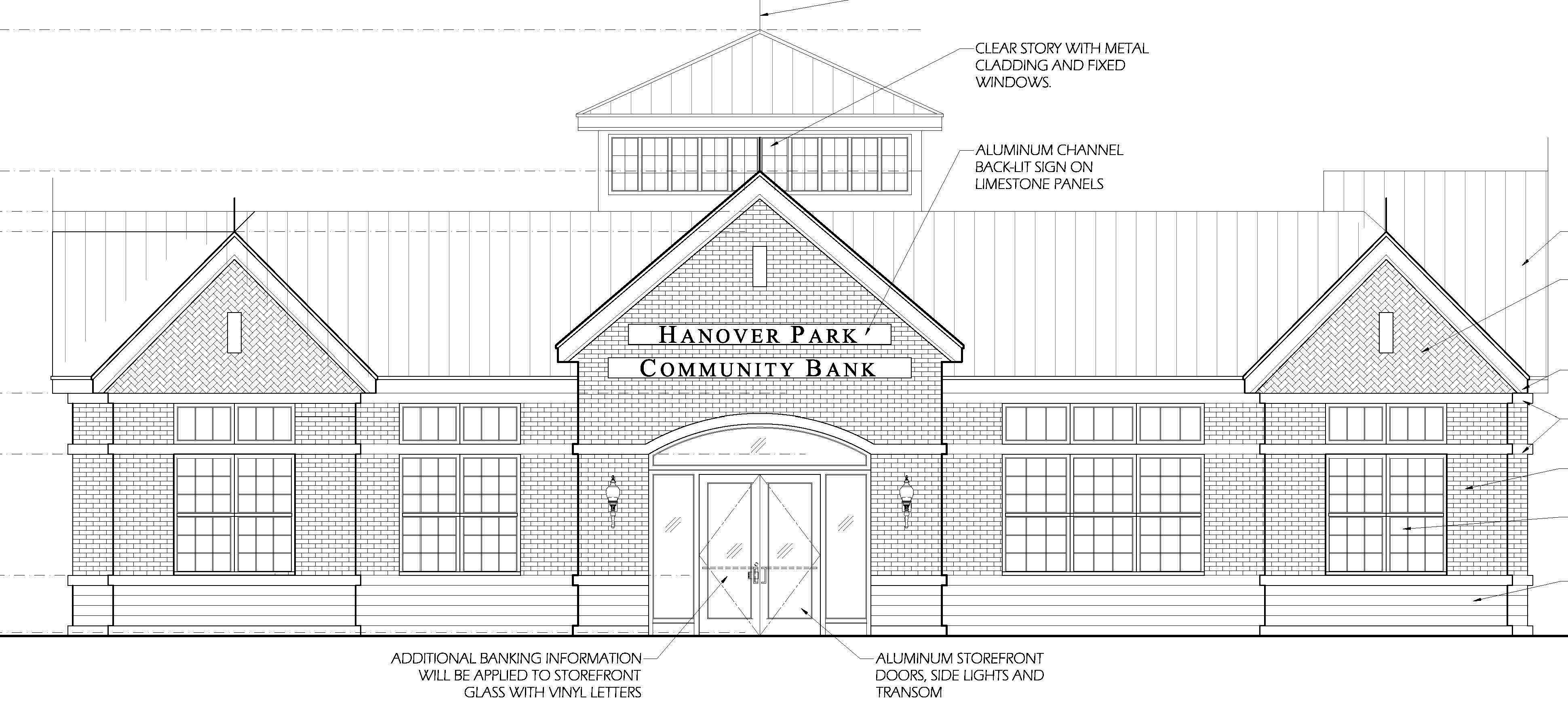 A Hanover Park panel will review a developer's plan to buy and construct a drive-through bank on a village-owned property next to the fire department's headquarters.