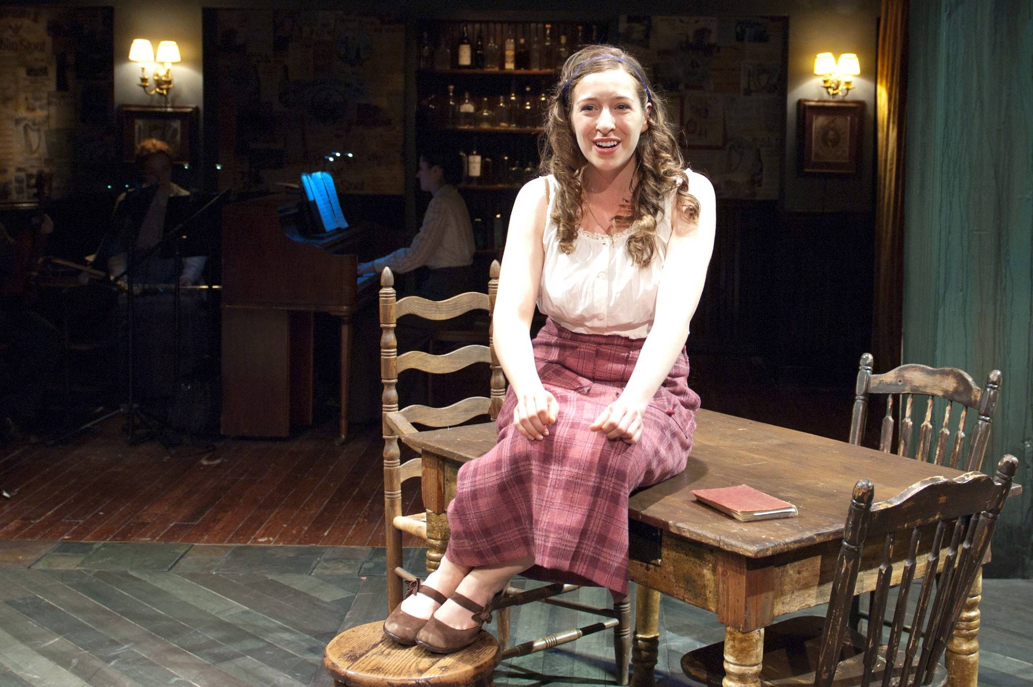 "Emily Glick makes her TimeLine Theatre debut as Mary, trade unionist daughter of Juno and Jack, in the Chicago company's revival of ""Juno"" by Joseph Stein and Marc Blitzstein."