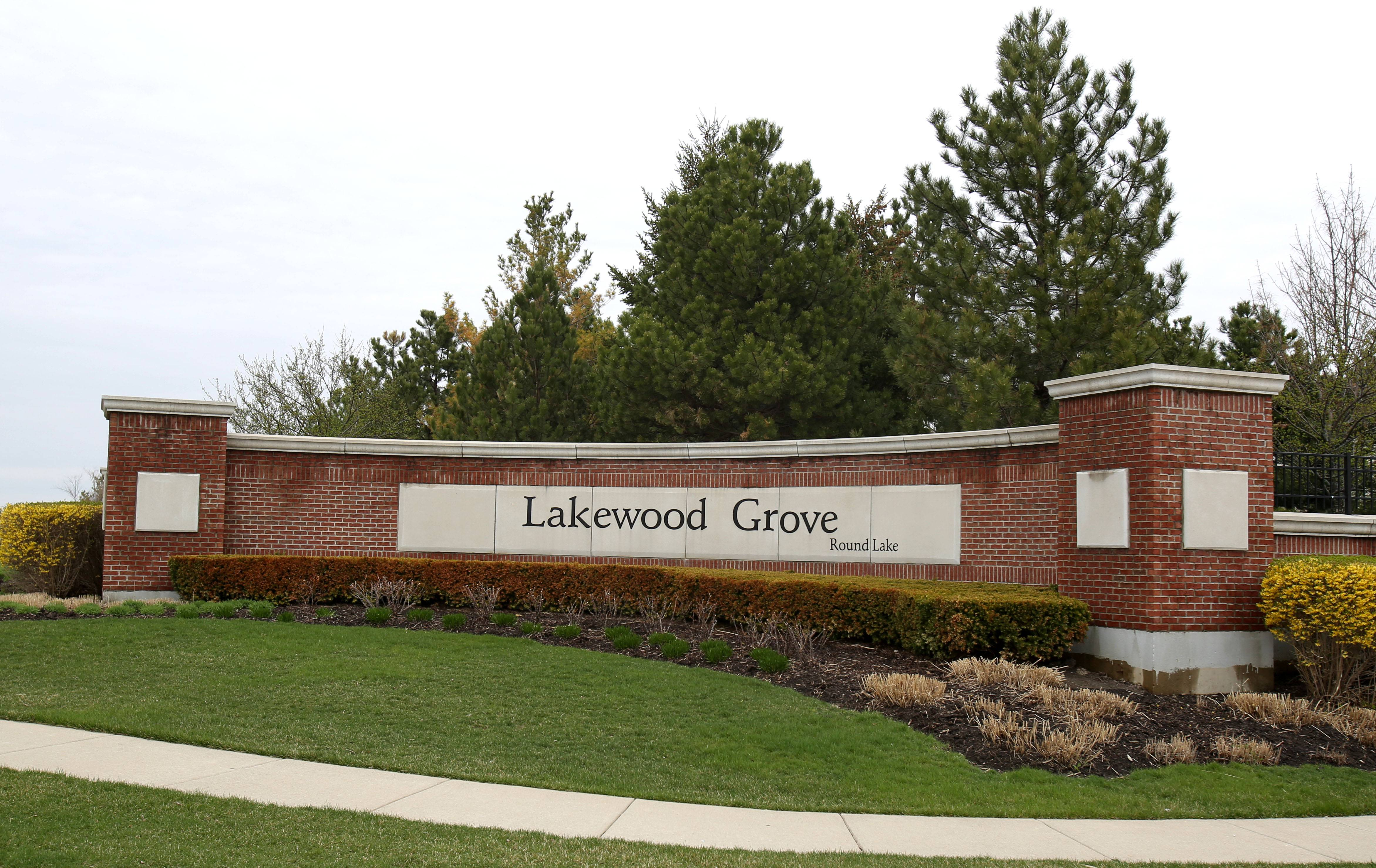 The Lakewood Grove neighborhood is situated off Cedar Lake Road near Route 60.