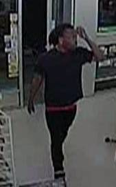 This potential witness left the store shortly before the armed robbery, police said.