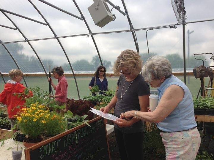 Smart Farm of Barrington will host its annual spring vegetable seedling sale from 9 a.m.-noon on Saturday, May 17, at its hoop house, on the Advocate Good Shepherd Hospital Campus, 450 W. Highway 22, Barrington.
