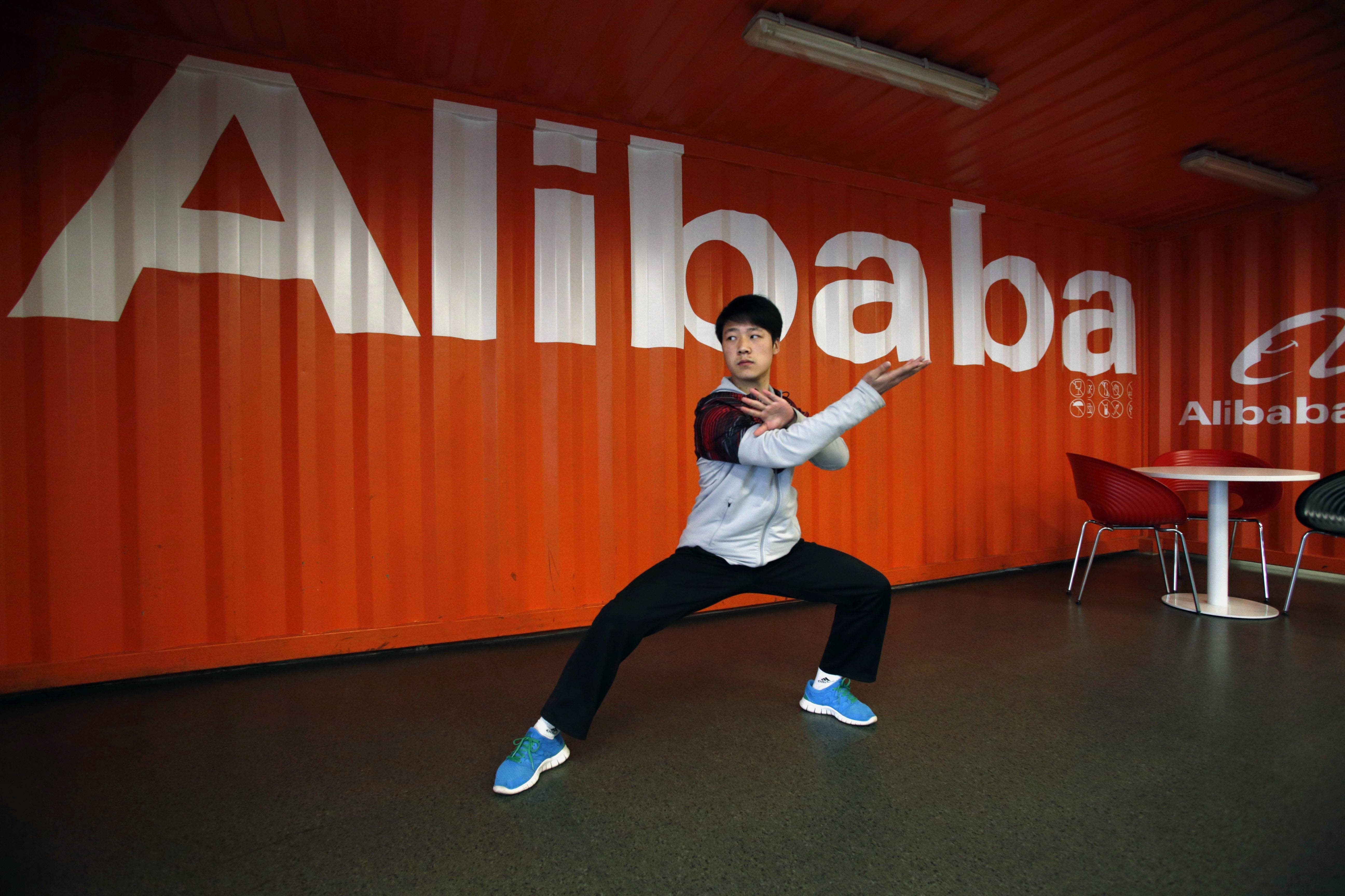 As Alibaba gets ready for its blockbuster U.S. stock sale in the next few months, technology companies are getting slammed in the market.