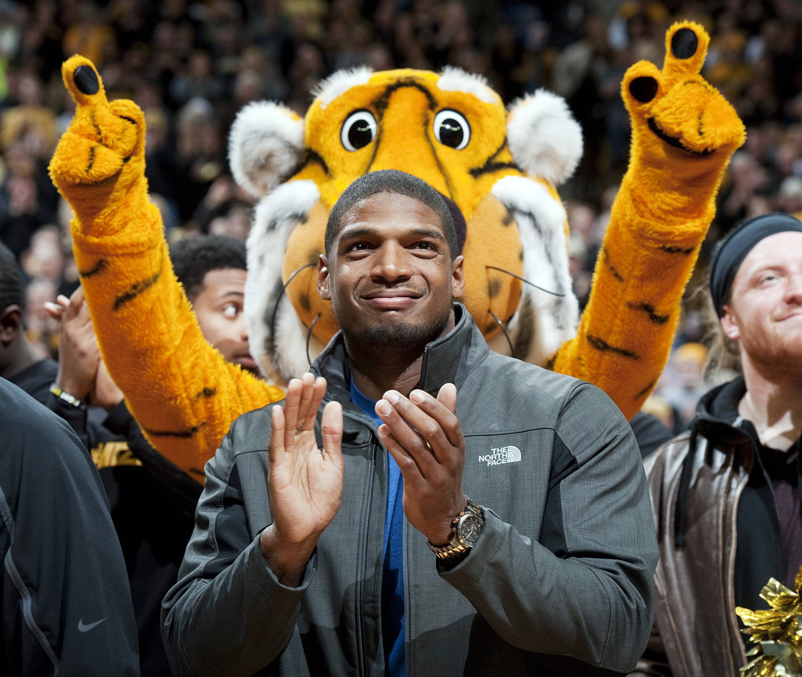 Mizzou star Michael Sam came out as gay in media interviews earlier this year. The St. Louis Rams drafted him with their seventh-round pick on Saturday.