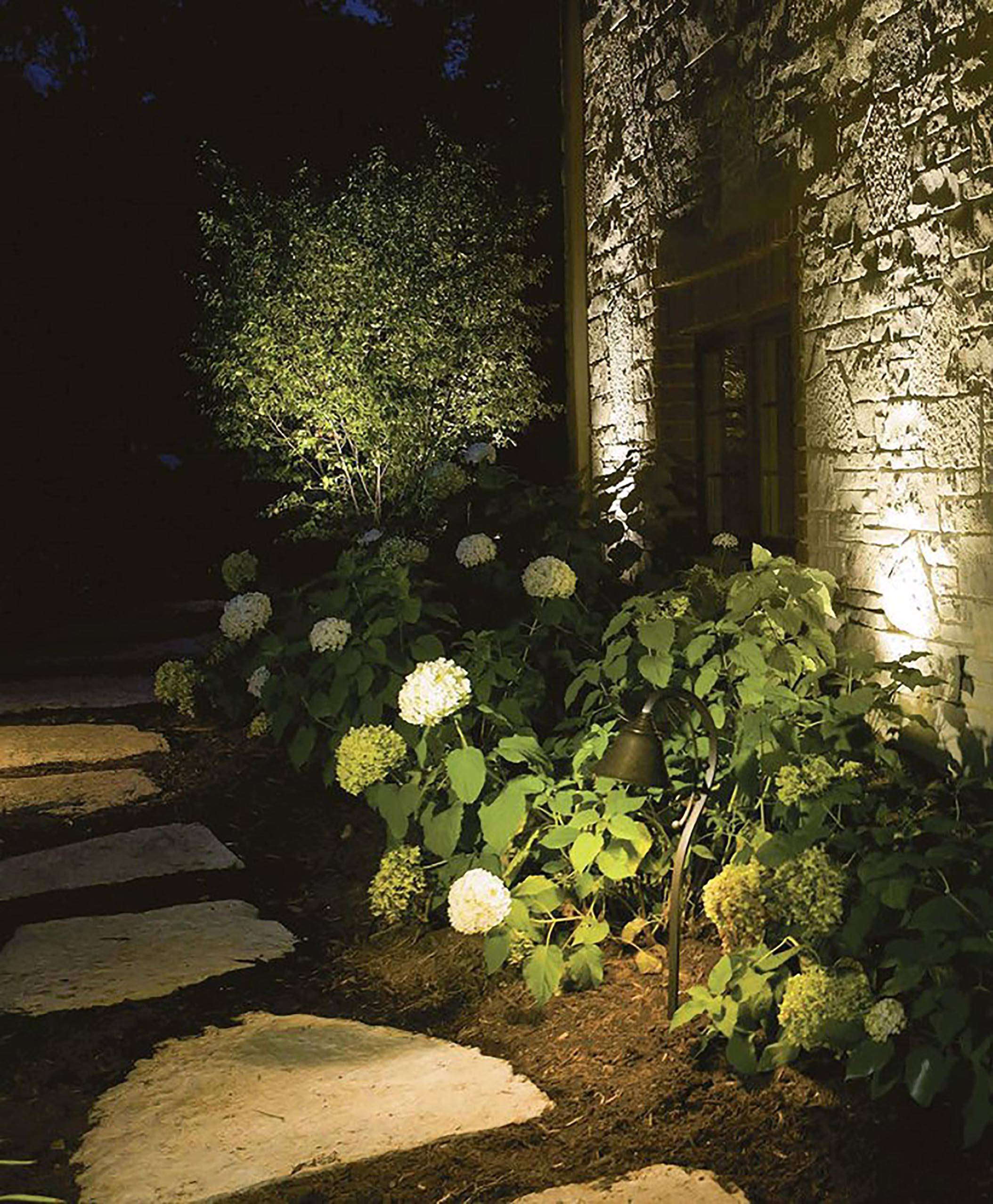 With the correct electrical infrastructure, you can build upon your outdoor lighting design over time.