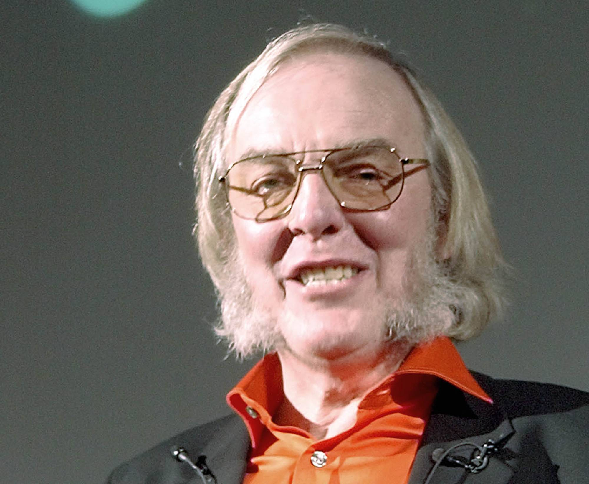 The Beagle2 spacecraft project's leading scientist, Professor Colin Pillinger, in London.
