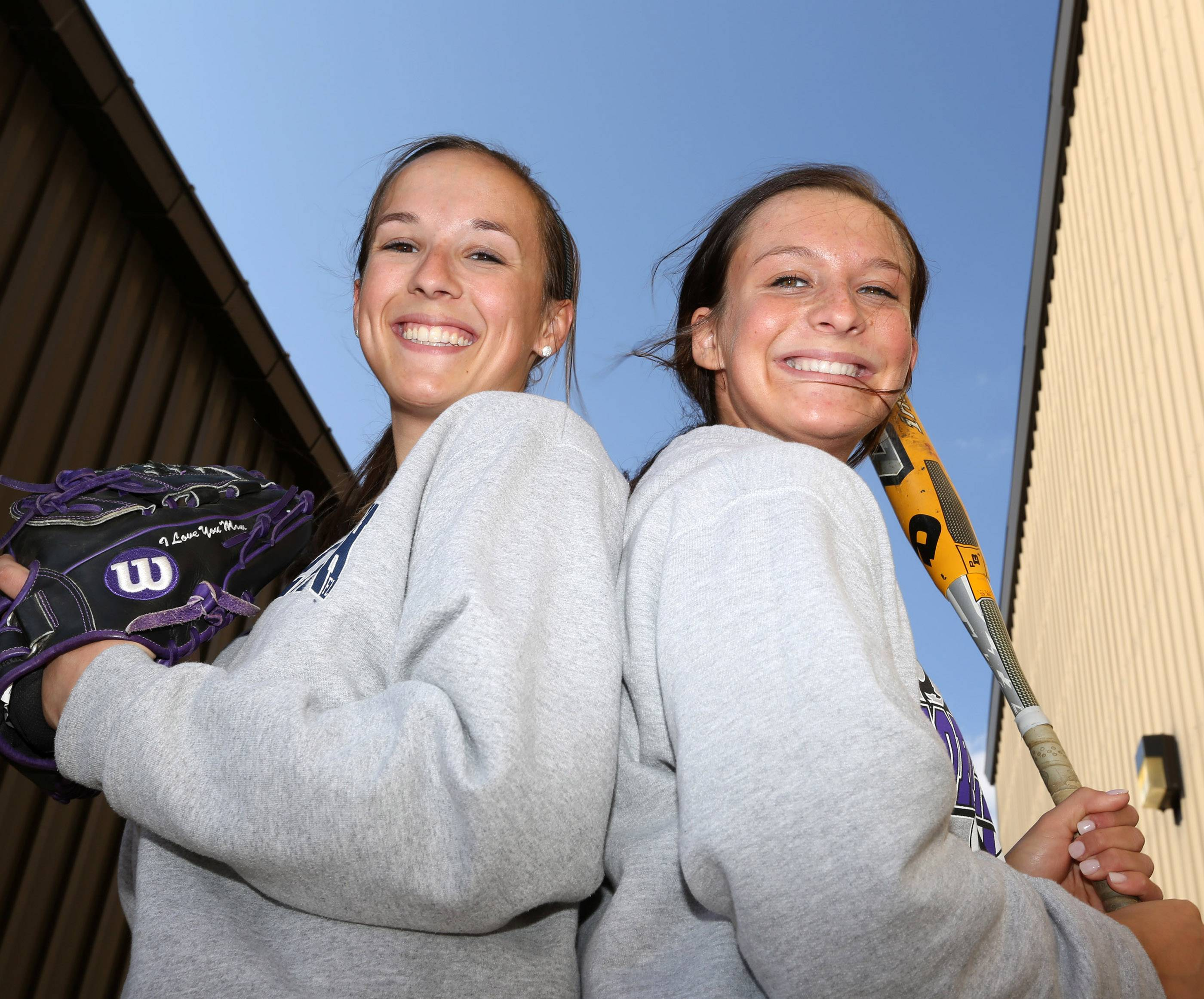 Warren softball senior teammates Jana Wagner and Jazmin Bonke were already best friends, and now both are coping, together, with the loss of a parent within the past year.