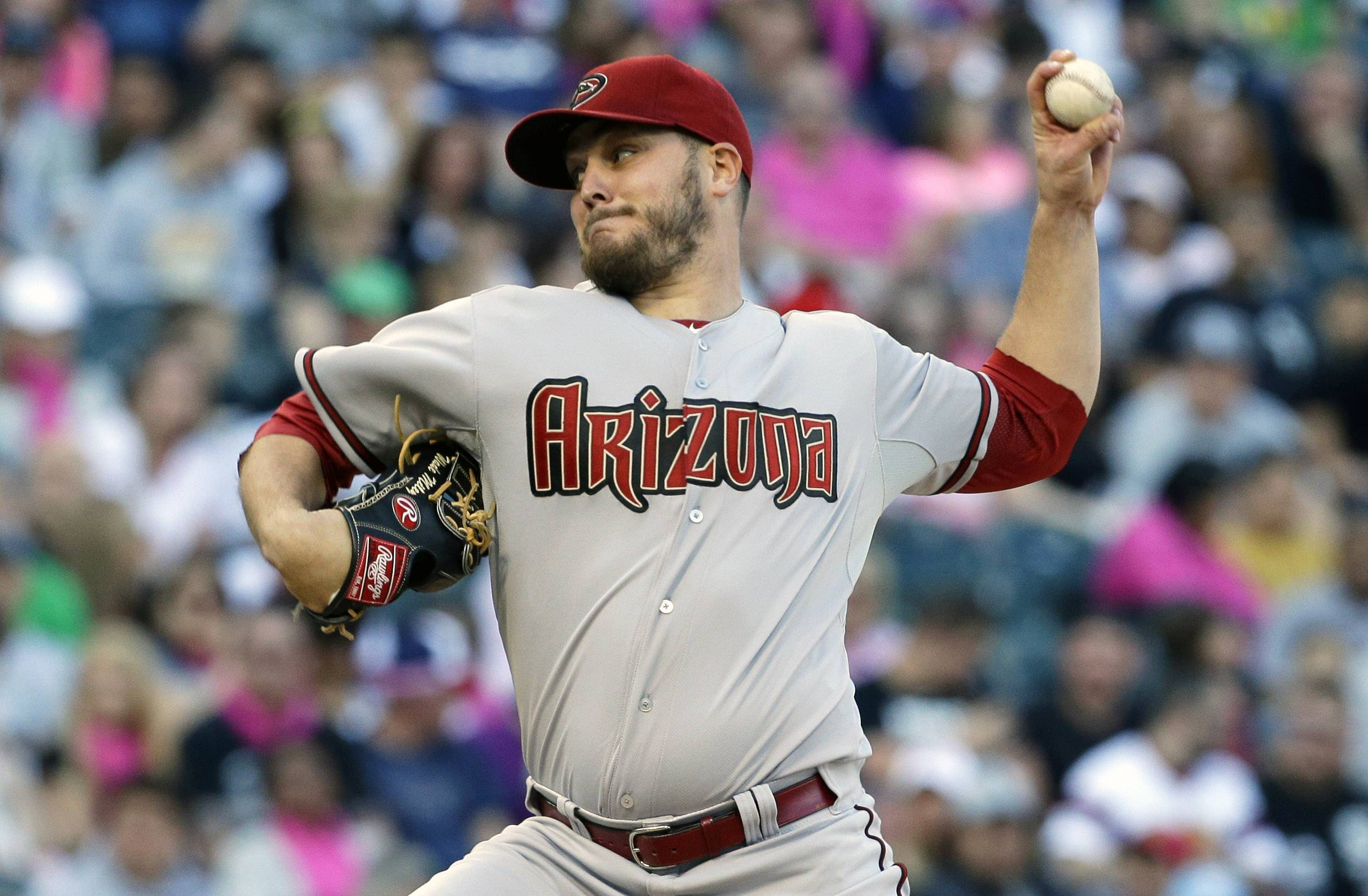 Arizona Diamondbacks starter Wade Miley struck out six in a win over the White Sox on Saturday in Chicago.