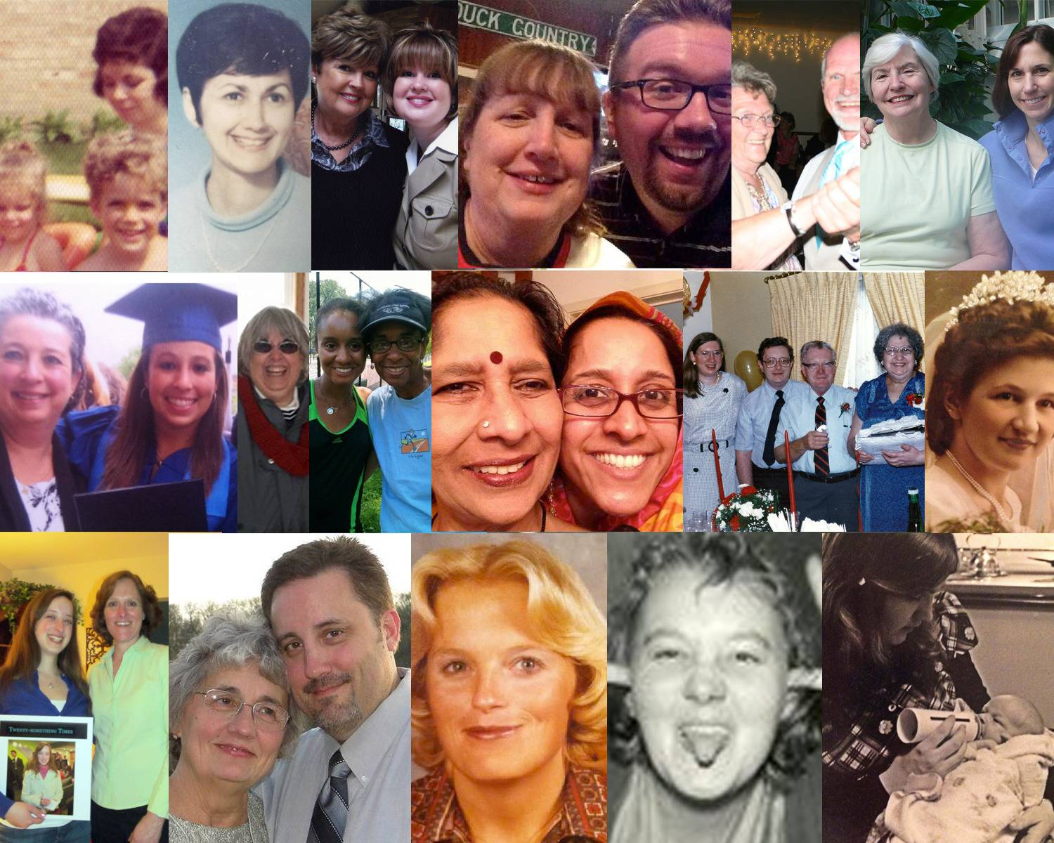 In honor of Mother's Day, Daily Herald staffers wanted to share with you pictures of their moms. Happy Mother's Day to all.