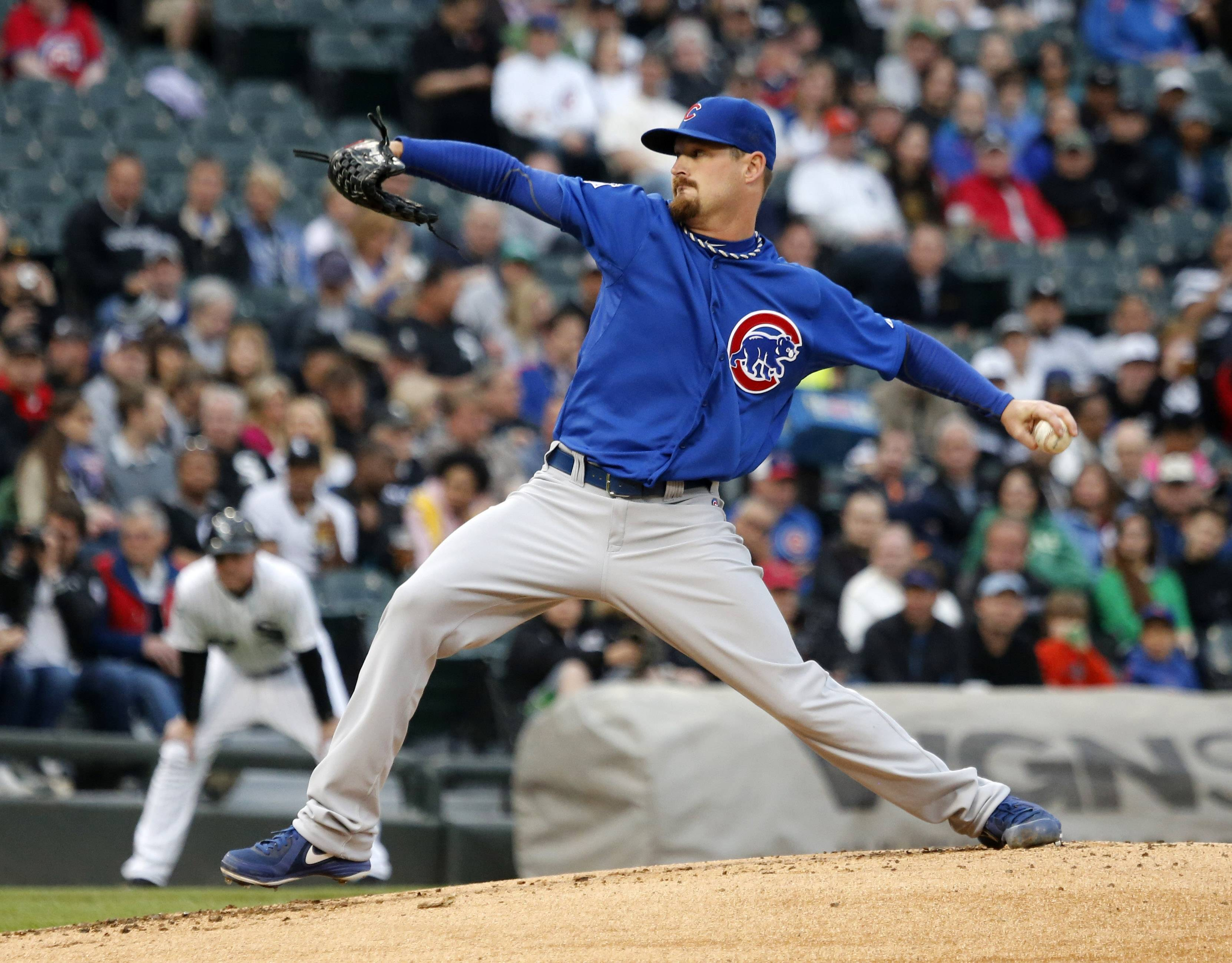 "Travis Wood has been a rather unlucky starting pitcher for the Cubs, but Len Kasper offers a version of Wood's statistics that indicates the left-hander has suffered a whopping 14 ""Tough Losses"" for the North Siders."