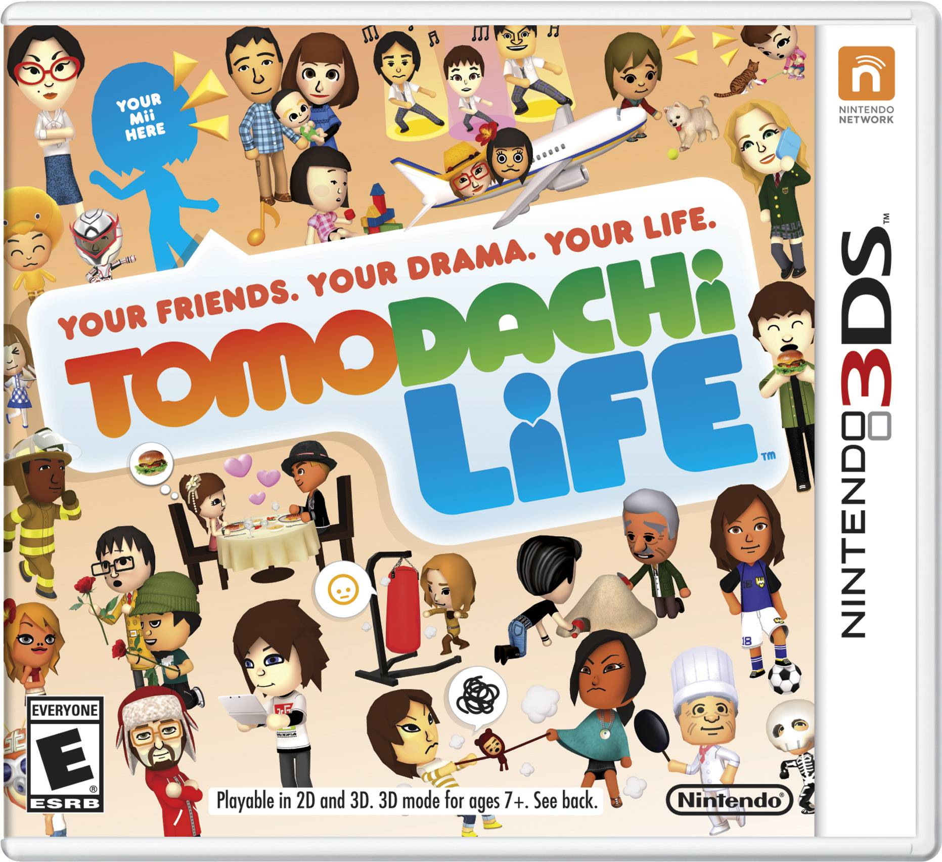 "The cover of the video game, ""Tomodachi Life."" Nintendo is apologizing and pledging to be more inclusive after being criticized for not recognizing same-sex relationships in English editions of the life-simulator video game."