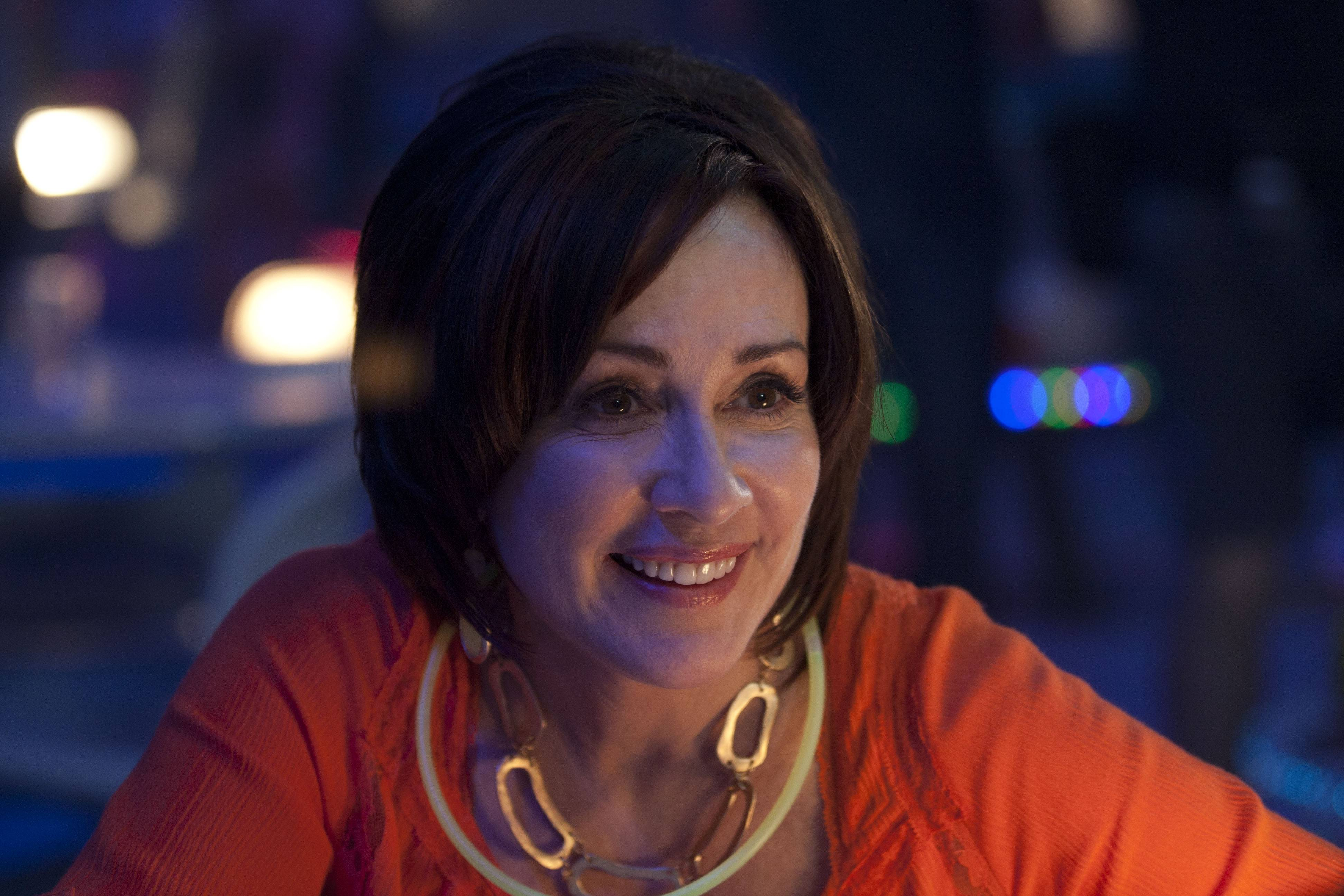 "Patricia Heaton stars in the family comedy ""Moms' Night Out,"" which is out in theaters now."