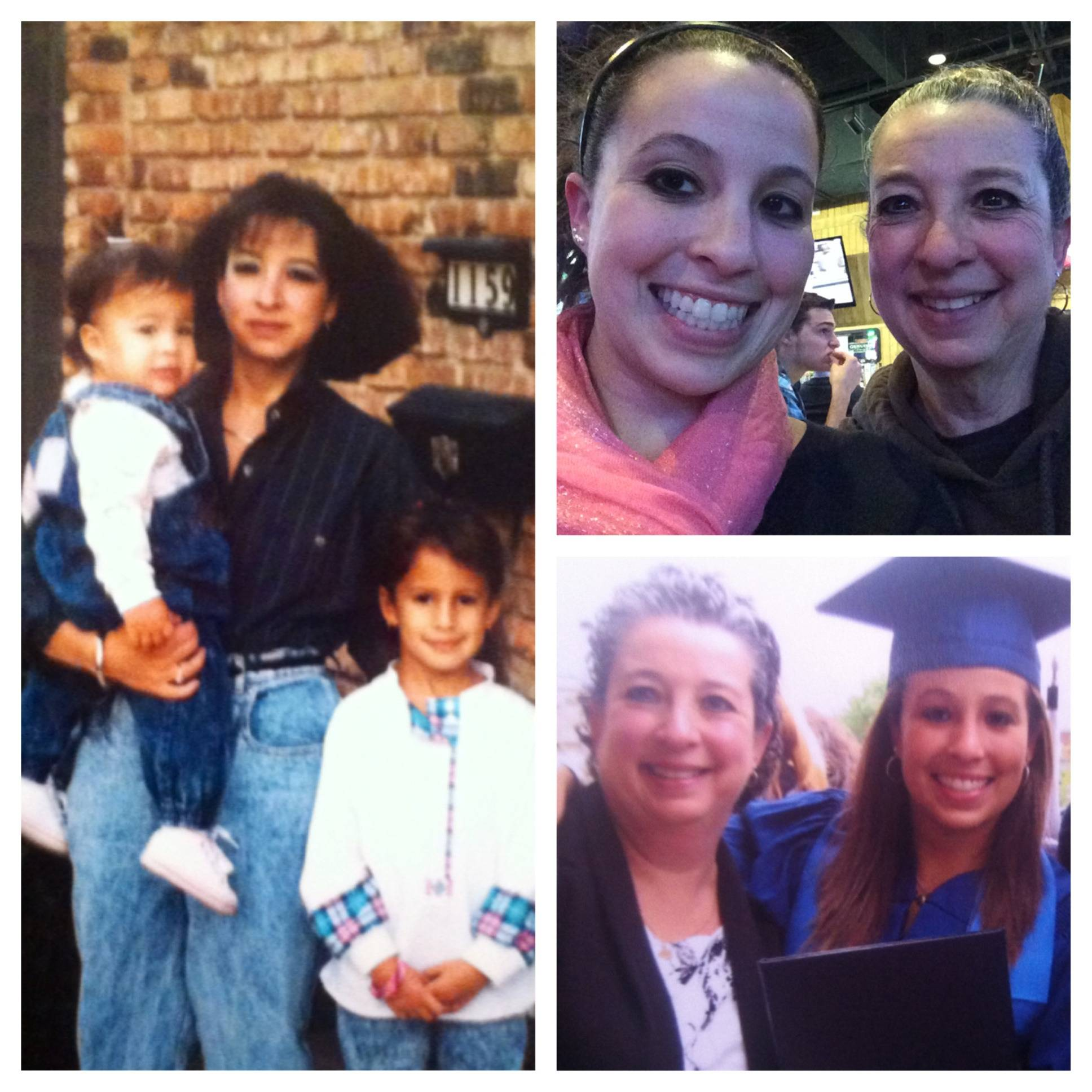 Reporter Melissa Silverberg loves these pics that show her and her mom through the years. @m_silverberg #dhmoms