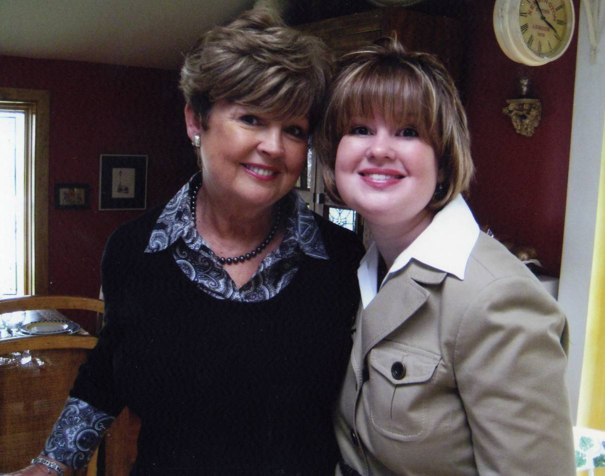 This is one of copy editor Kathleen Danes favorite photos of her and her mom Geri because we share the same smile (and pretty much everything else) and it was taken on Mother's Day.