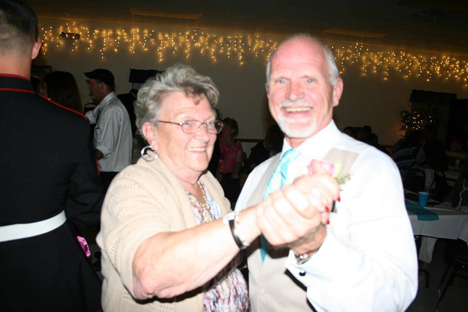 This is one of AME/Opinion Jim Slusher's favorite photos of his mother Elaine because he never gets to dance with her enough.The picture was taken at the 2012 wedding reception in Cedar Rapids, Iowa, of one of Elaine's three great-grandchildren, Tori Lynn Pratt.