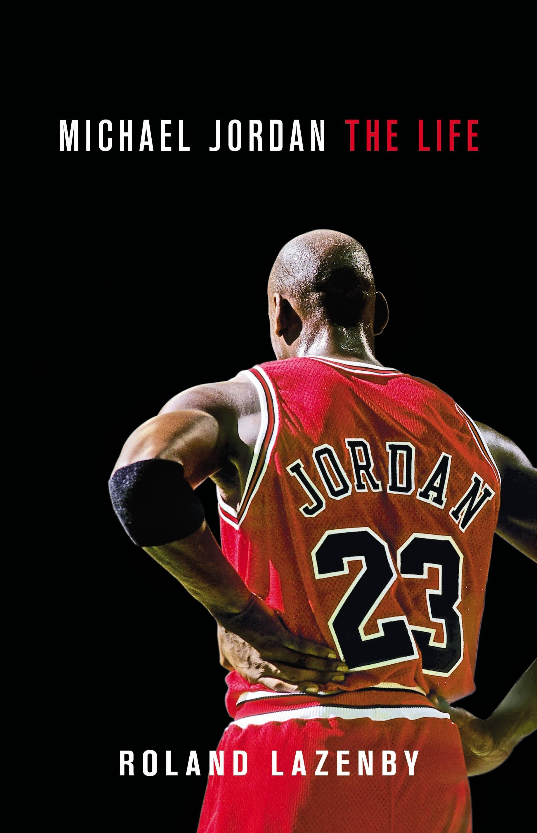 This is the cover of a new biography on Bulls superstar Michael Jordan.