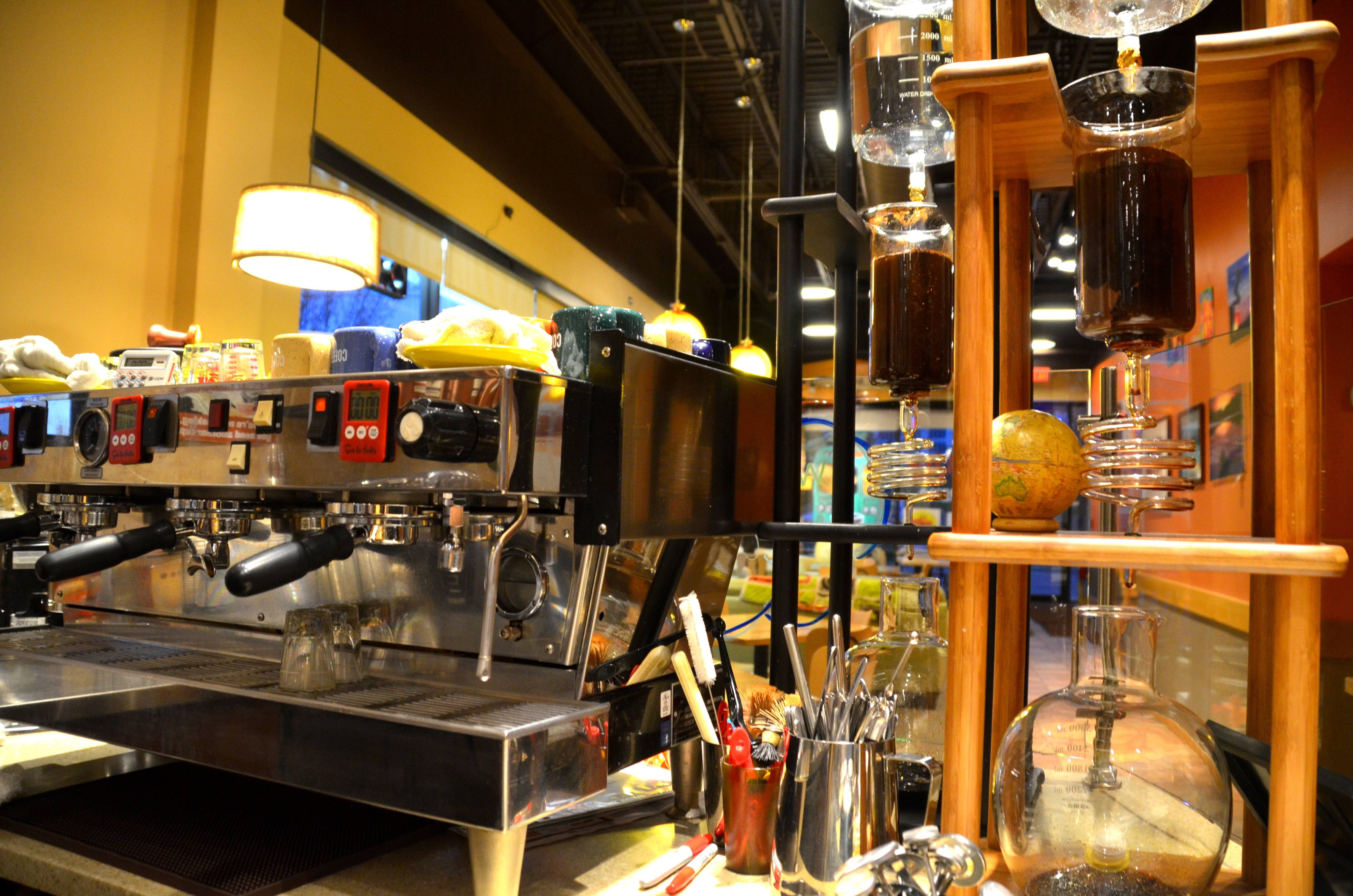Diana and Jim Rudd own and operate Coffee Planet in Rolling Meadows.