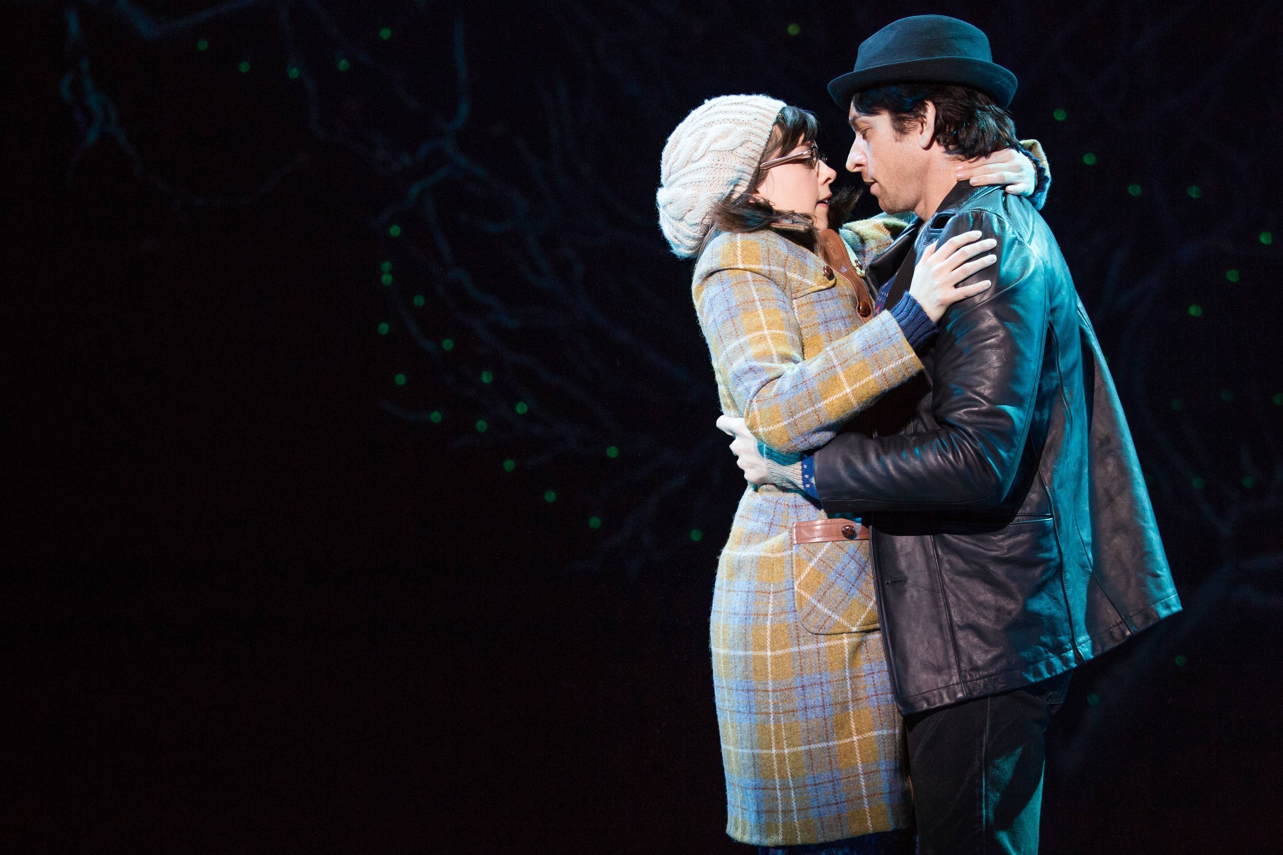 "Margo Seibert and Andy Karl perform ""Rocky,"" a musical based on the iconic film, at the Winter Garden Theatre."
