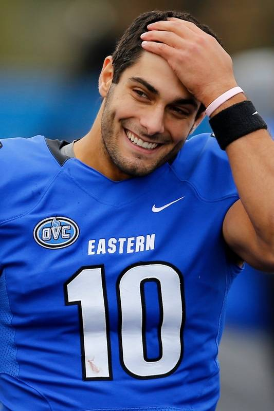 49ers Jimmy Garoppolo is a playoff virgin: Does
