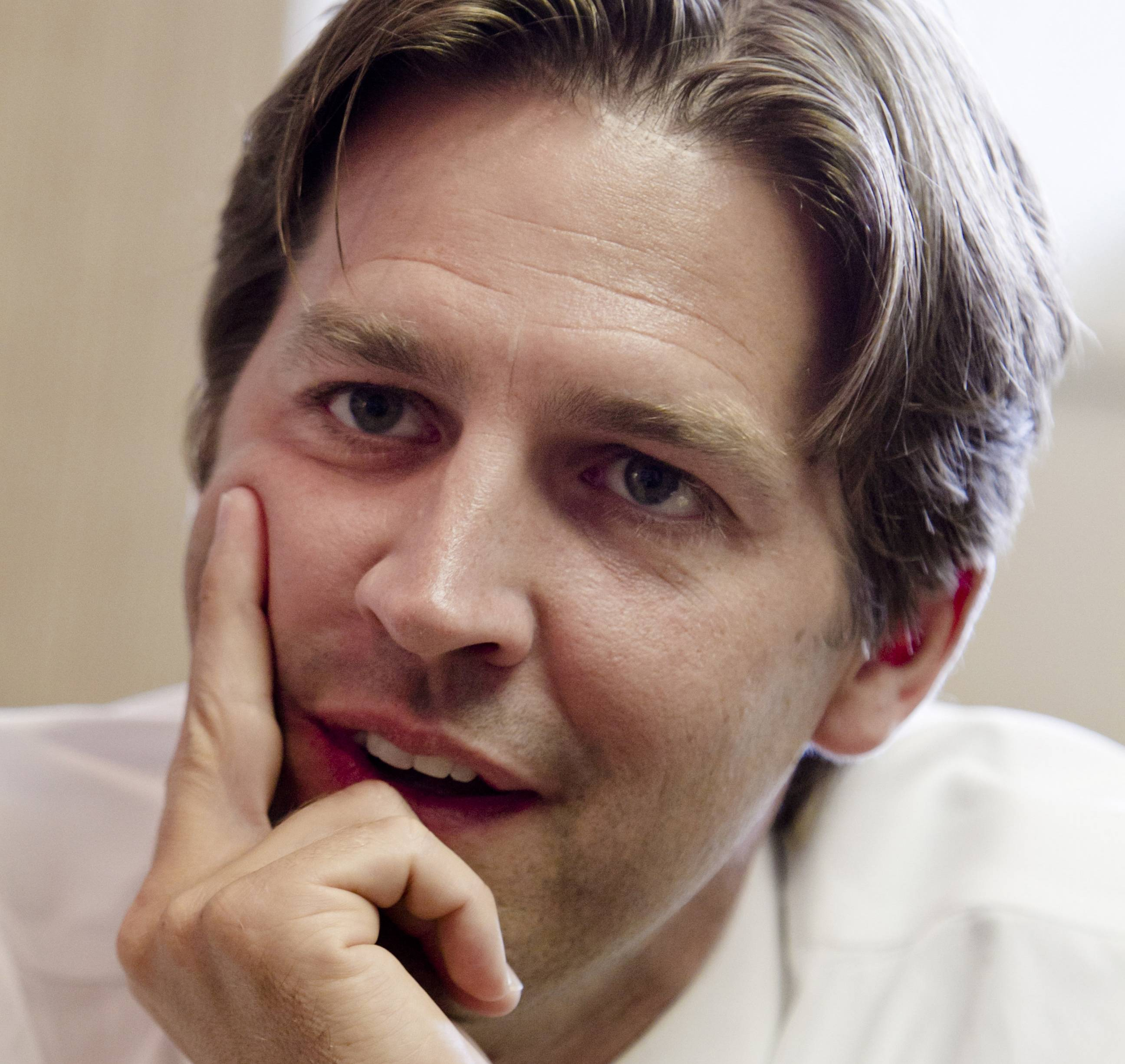 Nebraska Republican Senate candidate Ben Sasse, a Tea Party favorite, won the GOP nomination Tuesday.
