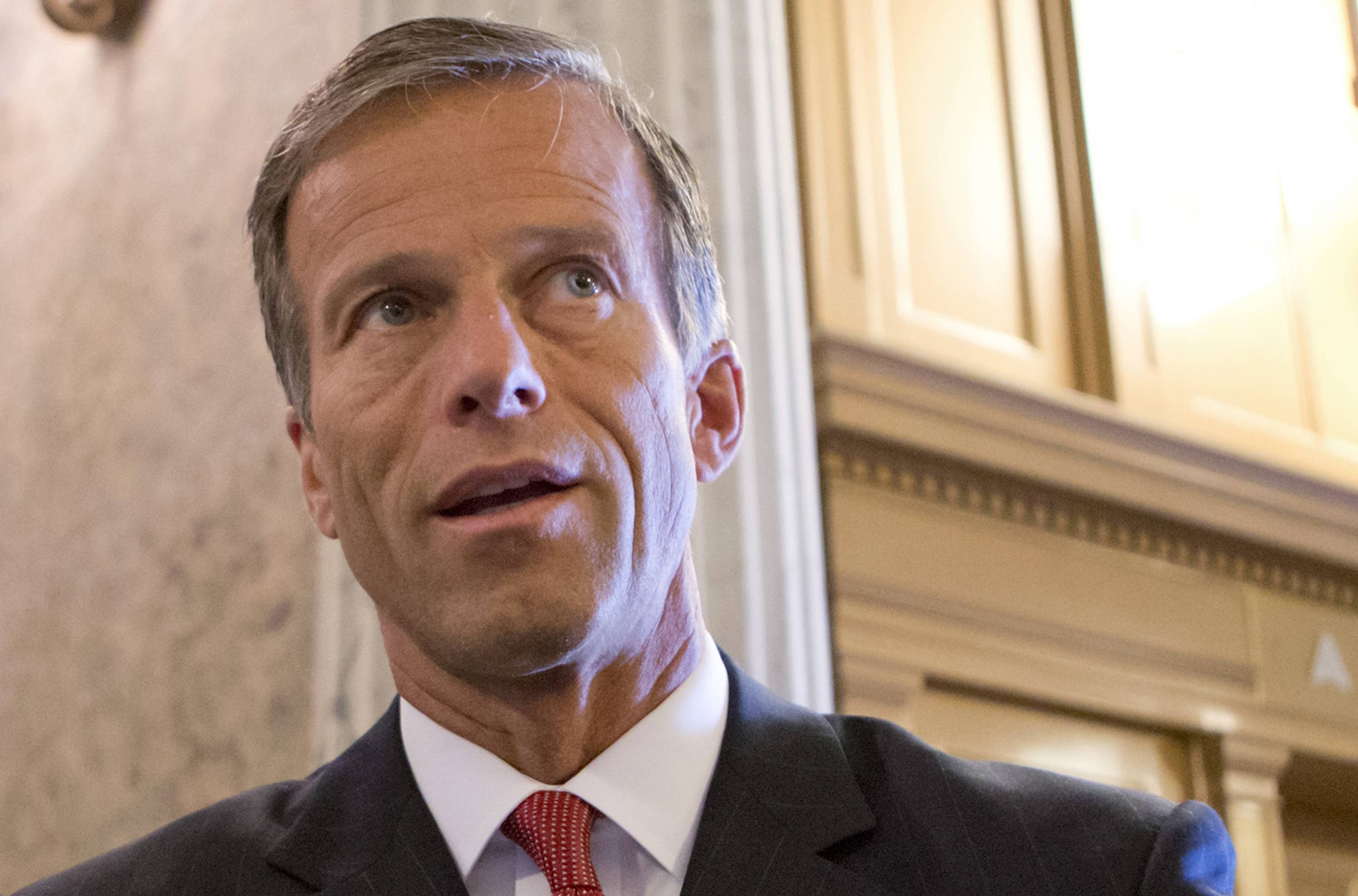 Sen. John Thune, a South Dakota Republican, wants to offer several amendments, including a permanent ban on state and local Internet access taxes. A temporary moratorium on such taxes is due to expire Nov. 1.