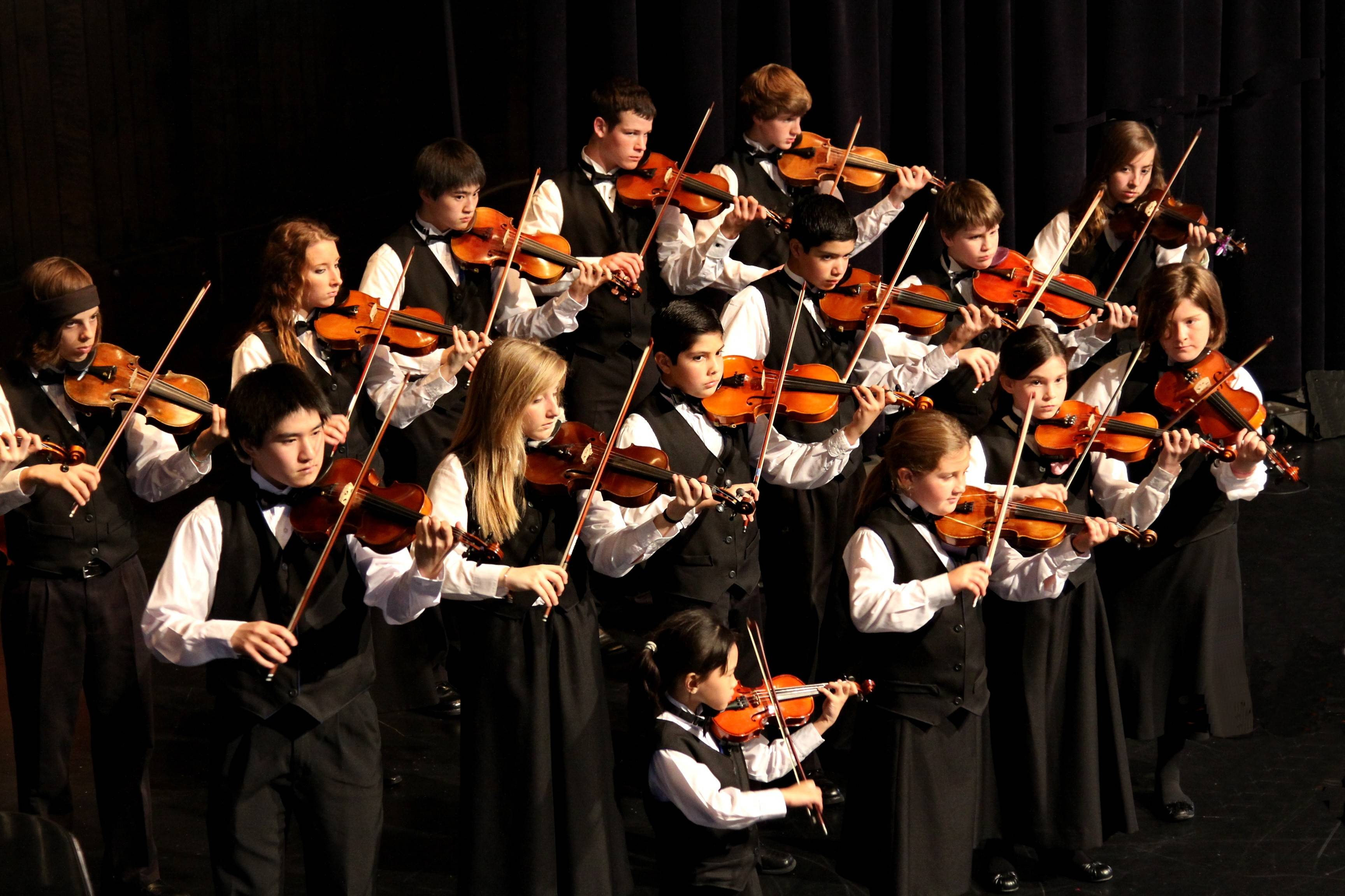 Children ages 4-18 can learn to play an instrument with the Suzuki Method. See young performers this Sunday, when the Suzuki School of Elgin holds its spring concert on the campus of Judson University.