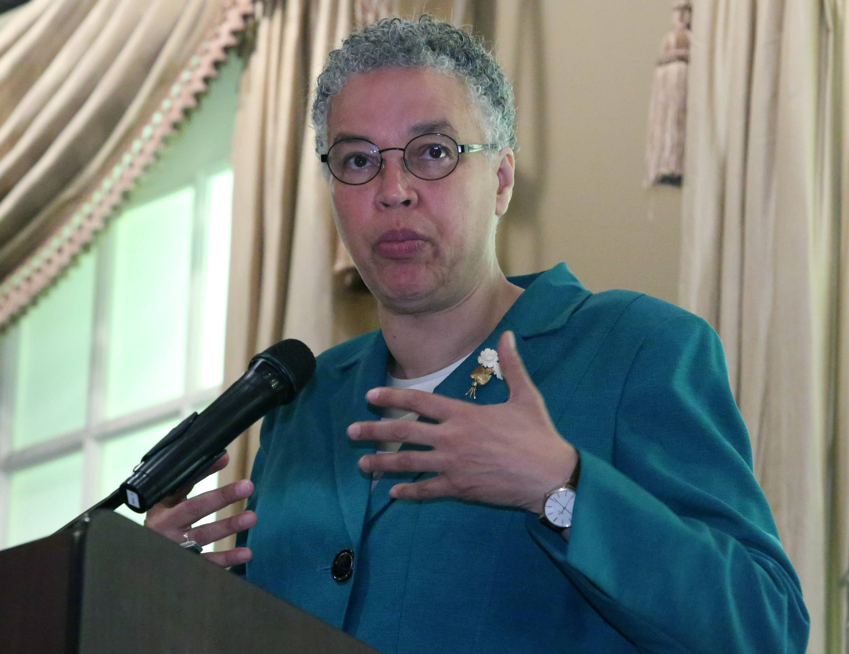 """Because of our position in the region, we know that strategic investments locally can have significant impacts regionally,"" Preckwinkle told a business gathering Tuesday in Palatine."