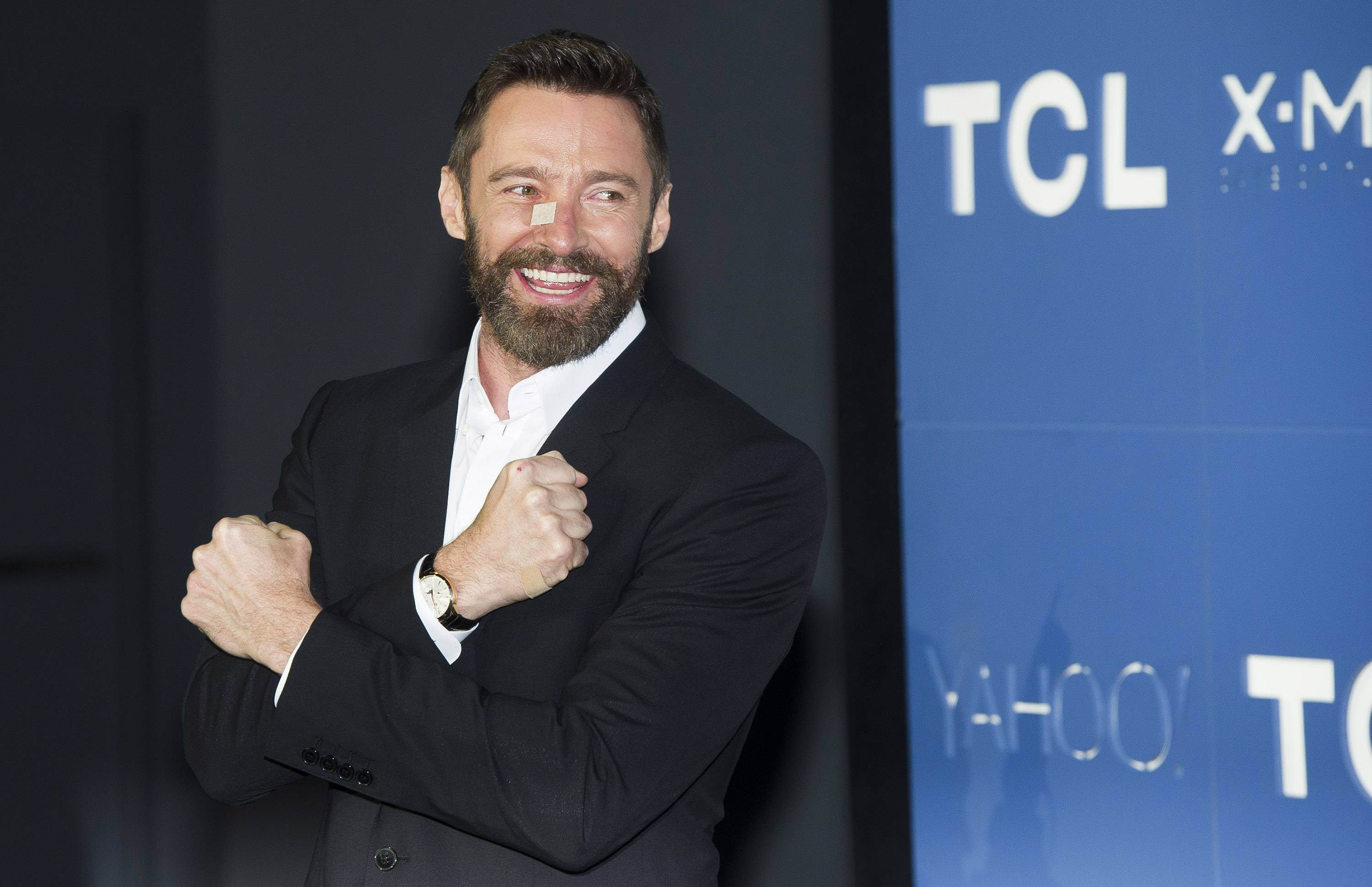 "Hugh Jackman, who stars in the upcoming ""X-Men: Days of Future Past"" movie, says he isn't ready to give up playing Wolverine just yet."