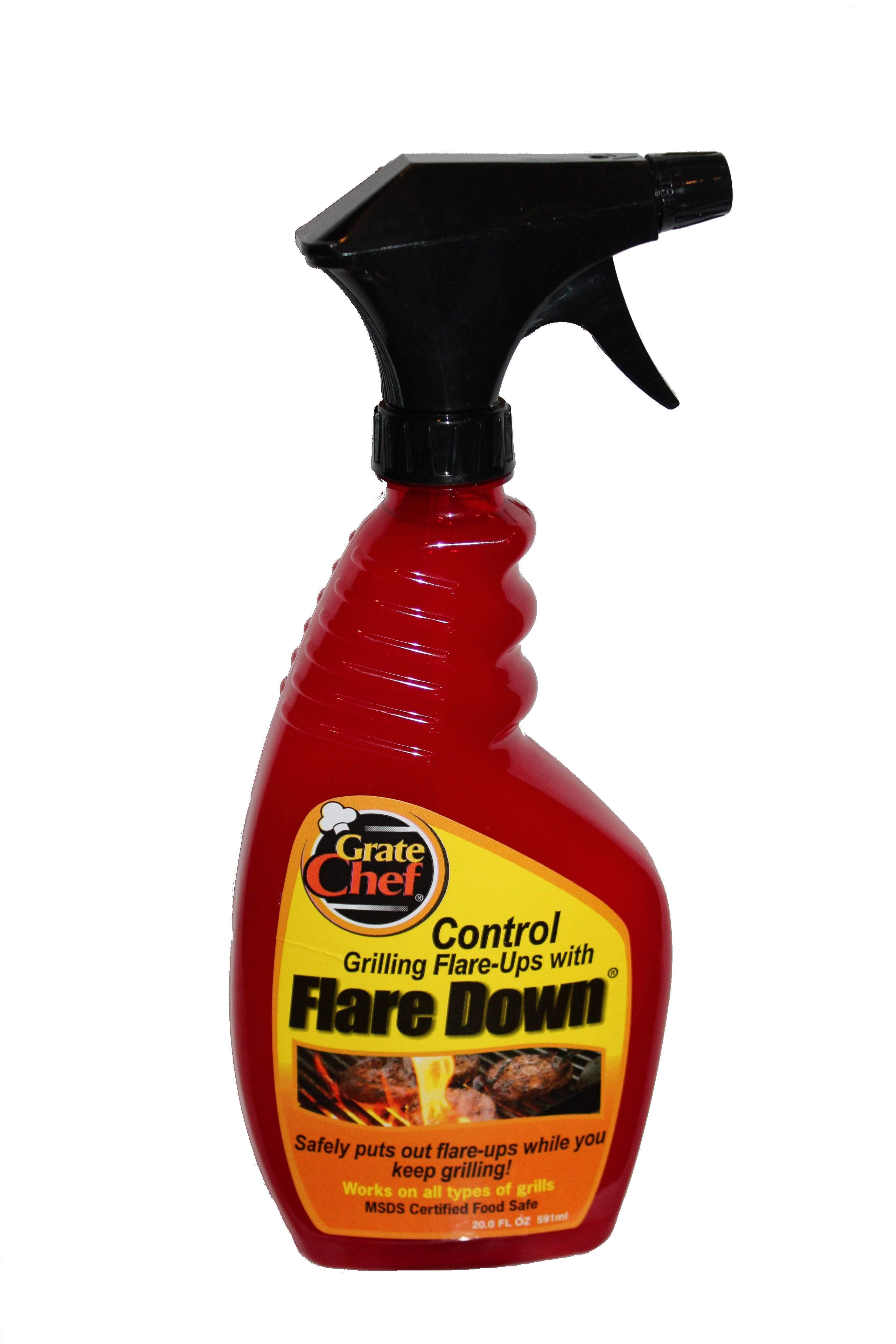 Flare Down is an all-natural and food-safe way to quash grease flare-ups in your grill.