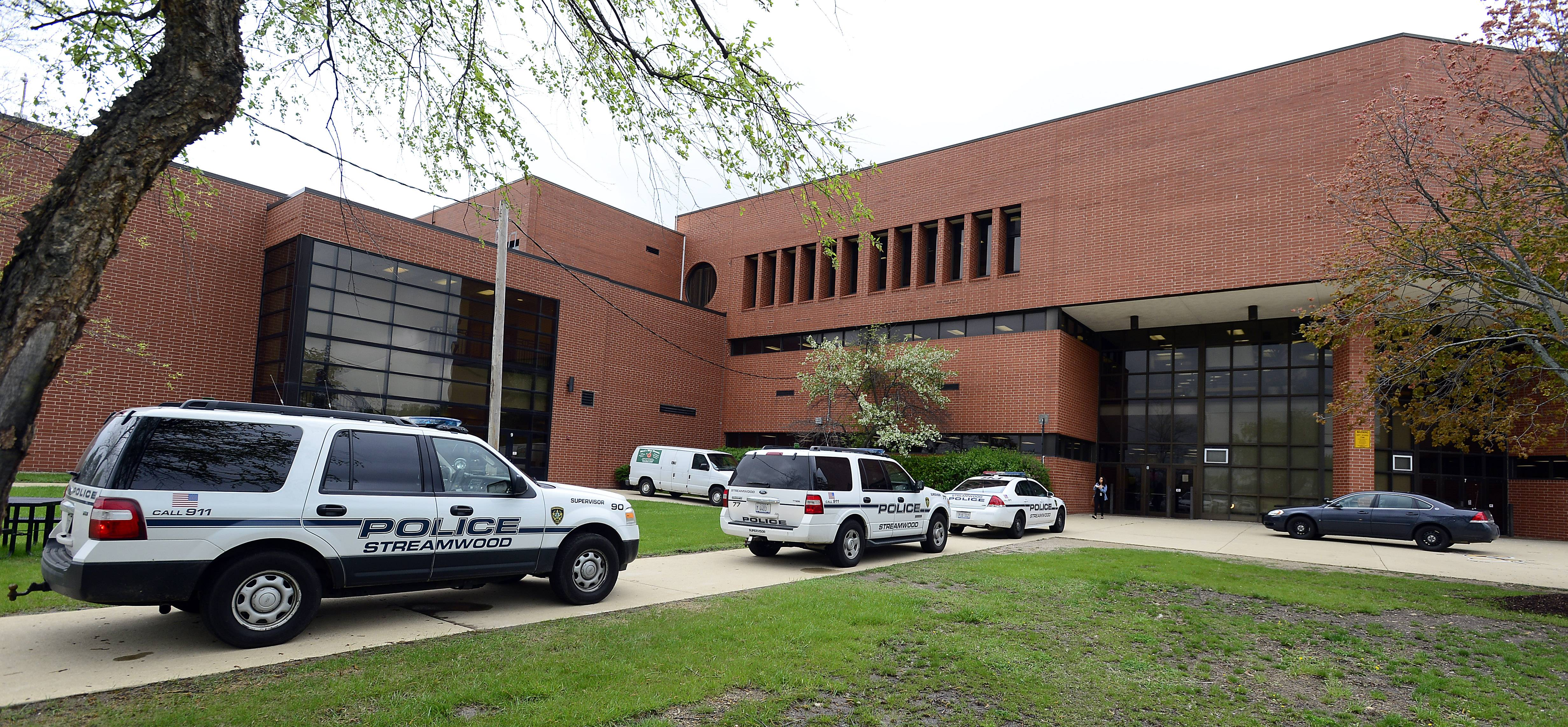 More than a dozen police patrol cars responded to a fight shortly before noon Tuesday at Streamwood High School. Six students were arrested as a result of the altercation, which caused no significant injuries, according to police.
