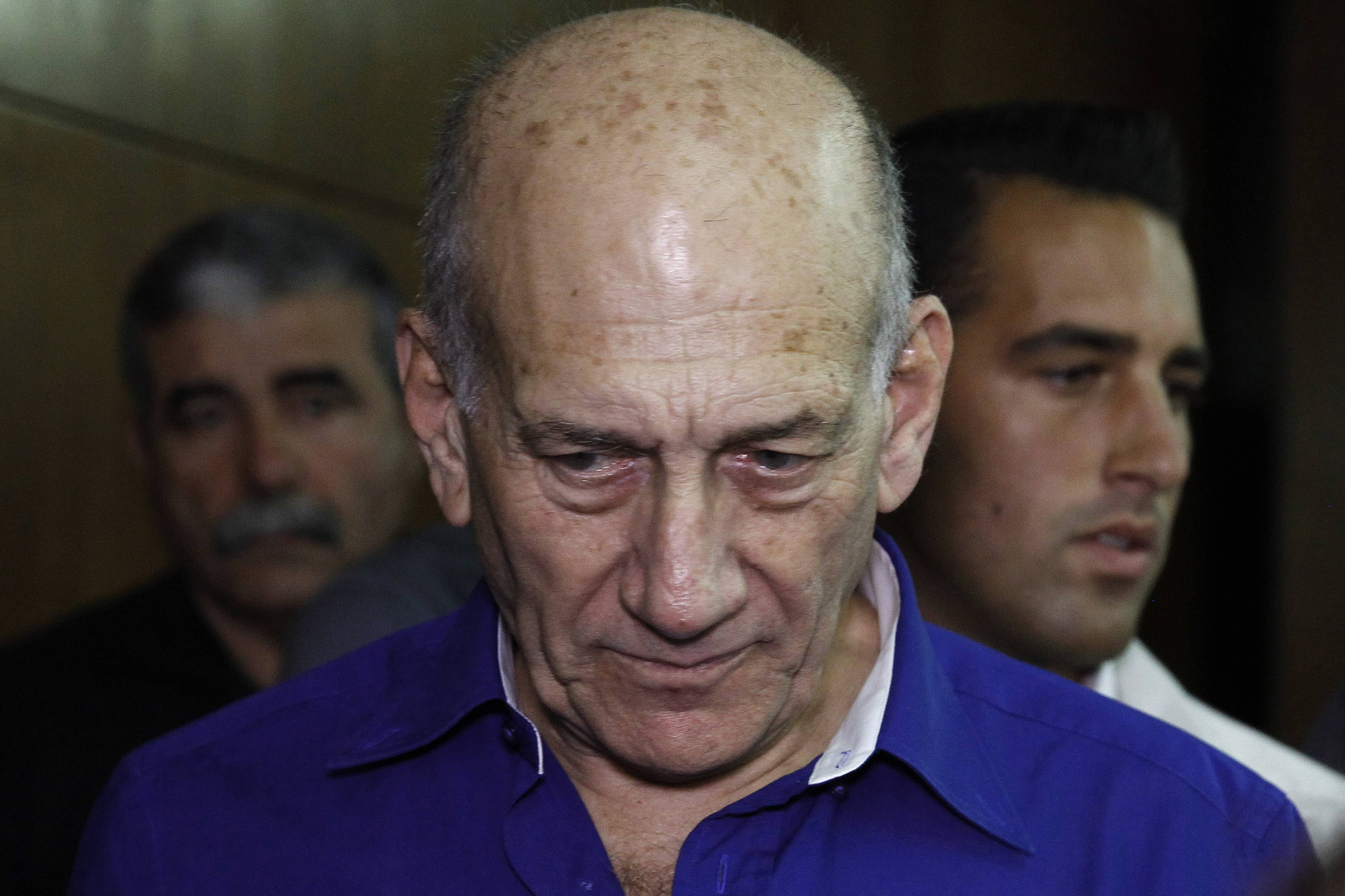 Israel's former Prime Minister Ehud Olmert was sentenced on Tuesday to six years in prison for his role in wide-ranging bribery case, capping a stunning fall from grace for one of the most powerful men in the country.