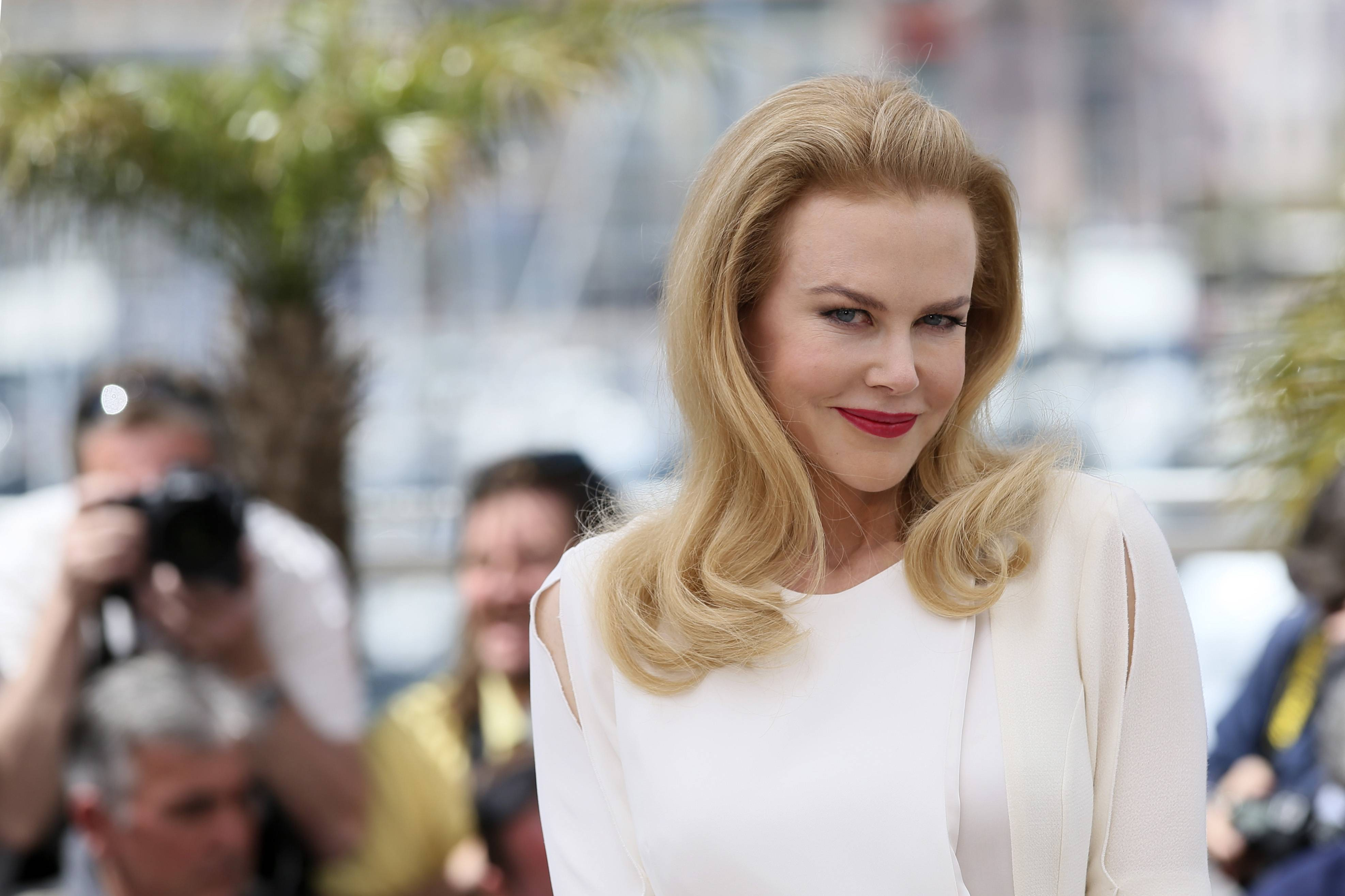 Actress Nicole Kidman poses for photographers during a photo call for Grace of Monaco at the 67th Cannes Film Festival in southern France on Wednesday.