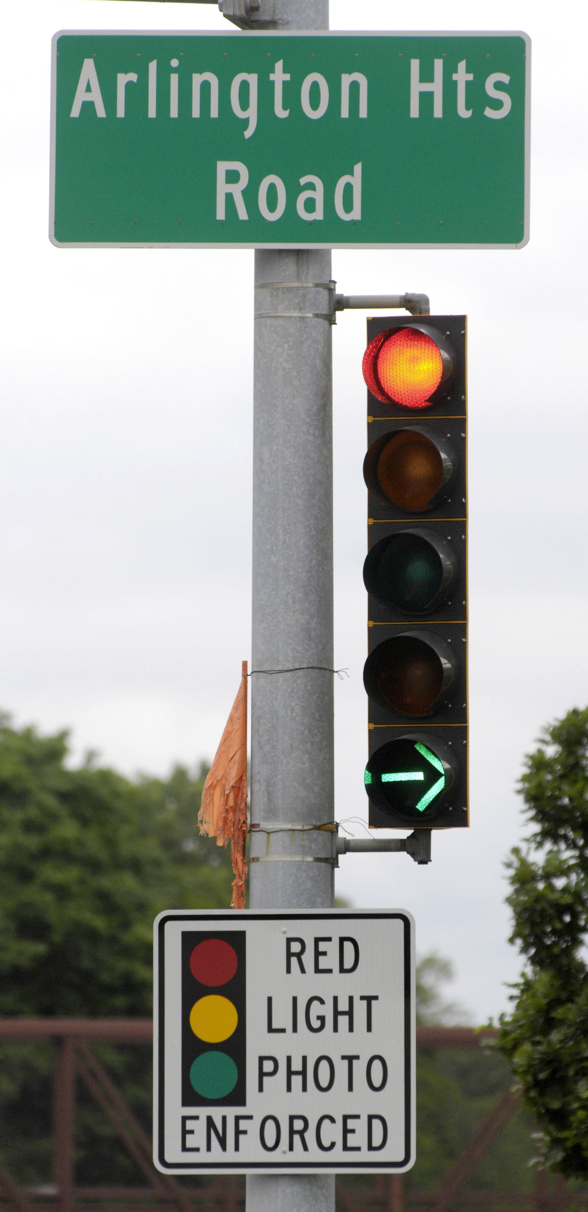 Elk Grove Village to keep red-light cameras