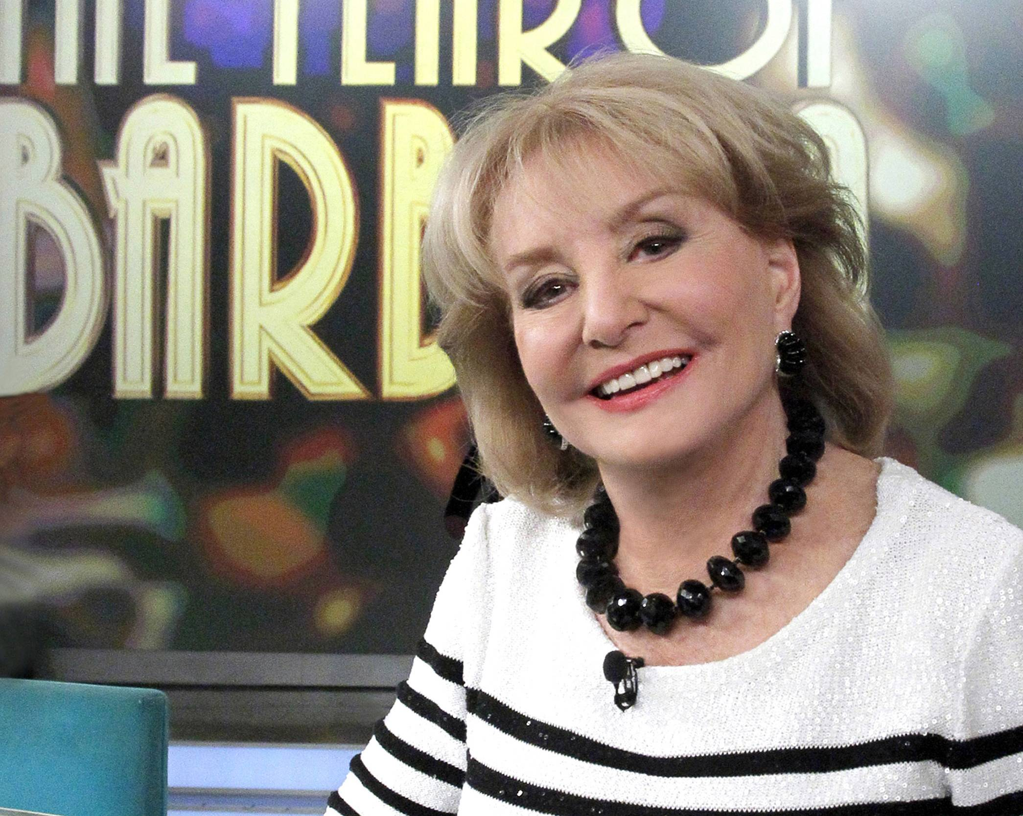 "On Friday, May 16, capping a spectacular half-century run she began as the so-called ""Today"" Girl, Barbara Walters will exit ABC's ""The View."" Behind the scenes she will remain as an executive producer of the New York-based talk show she created 17 years ago, and make ABC News appearances as events warrant and stories catch her interest."