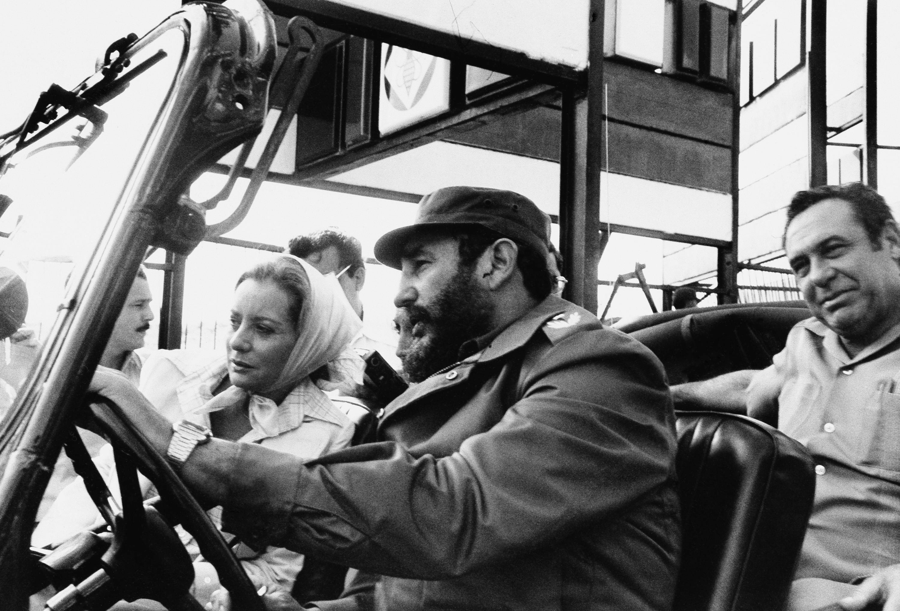 In 1977 ABC news correspondent Barbara Walters was driven by Cuban leader Fidel Castro on a sightseeing tour in Cuba. Over the years, Walters has interviewed numerous newsmakers.