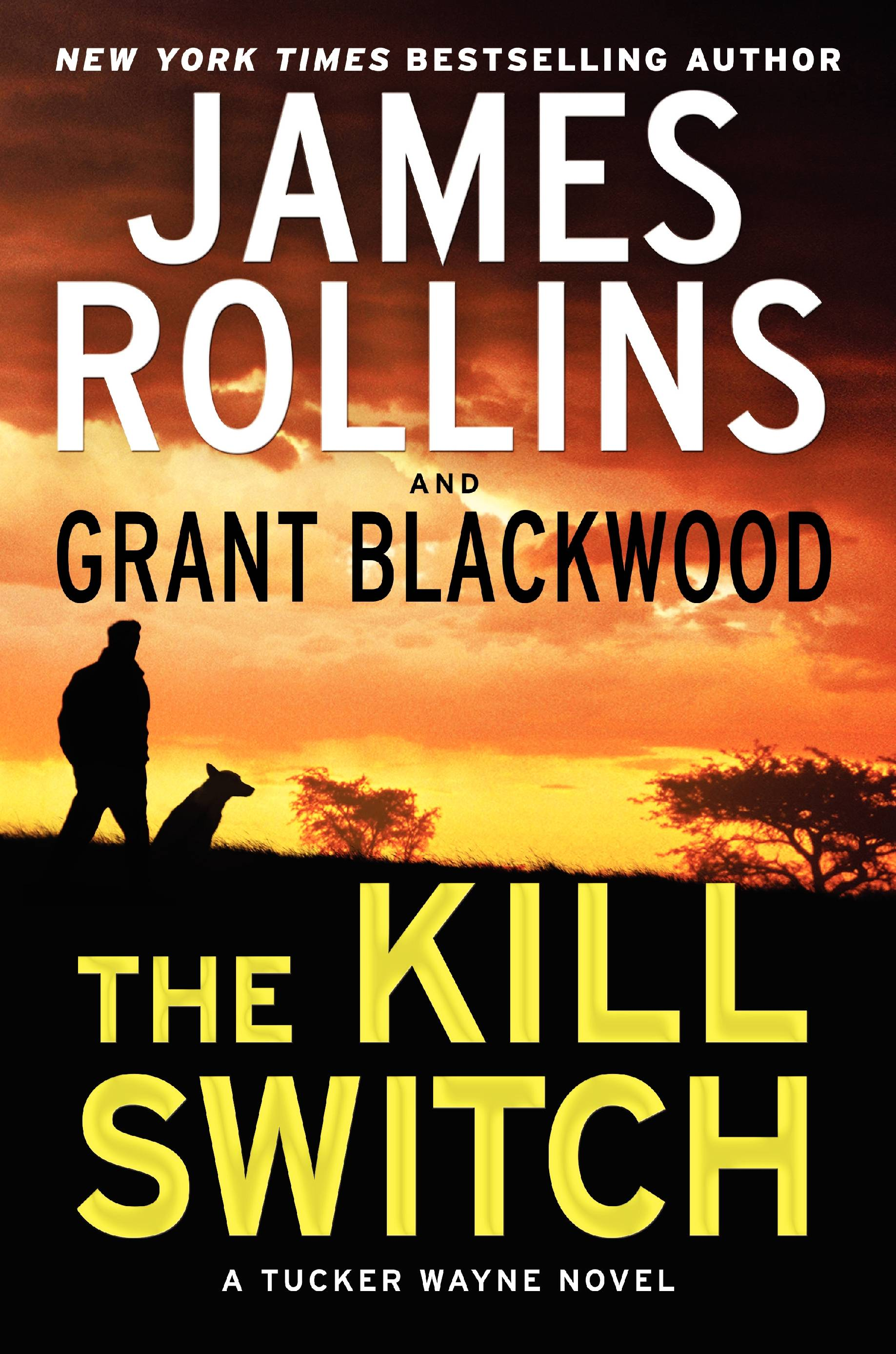 "Former Army Ranger Tucker Wayne and his military working dog Kane now star in their own series, starting with ""The Kill Switch"" by James Rollins and Grant Blackwood."