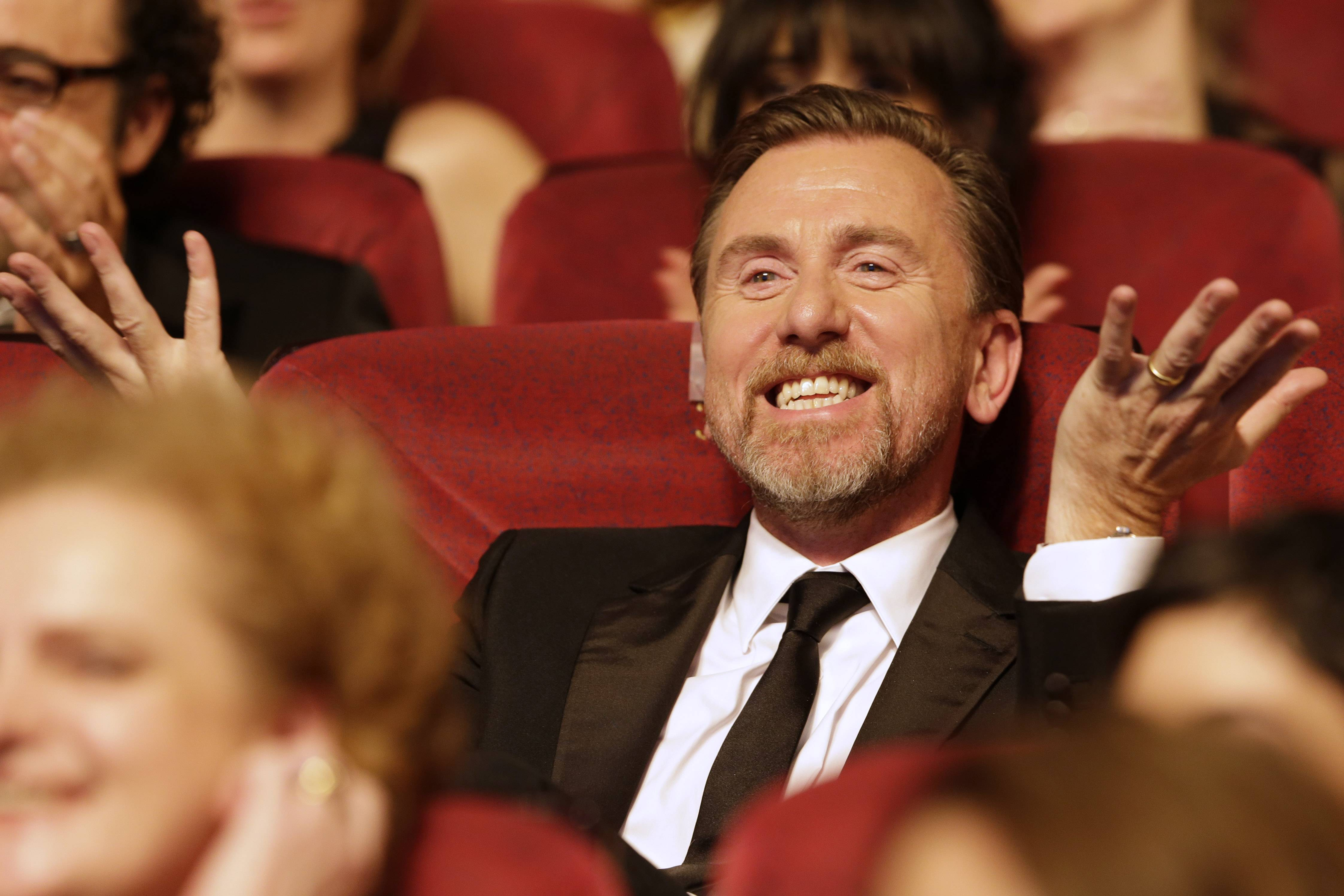 "Actor Tim Roth during the opening ceremony Wednesday ahead of the screening of ""Grace Of Monaco"" at the 67th Cannes Film Festival in southern France."