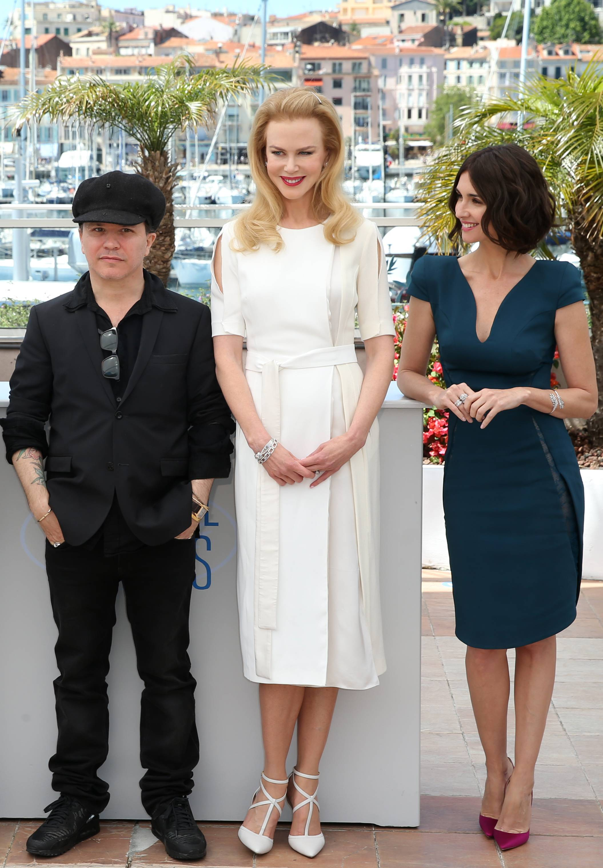 "From left, director Olivier Dahan, actress Nicole Kidman and actress Paz Vega pose during a photo call Wednesday for the film ""Grace of Monaco"" at the 67th Cannes Film Festival in southern France."
