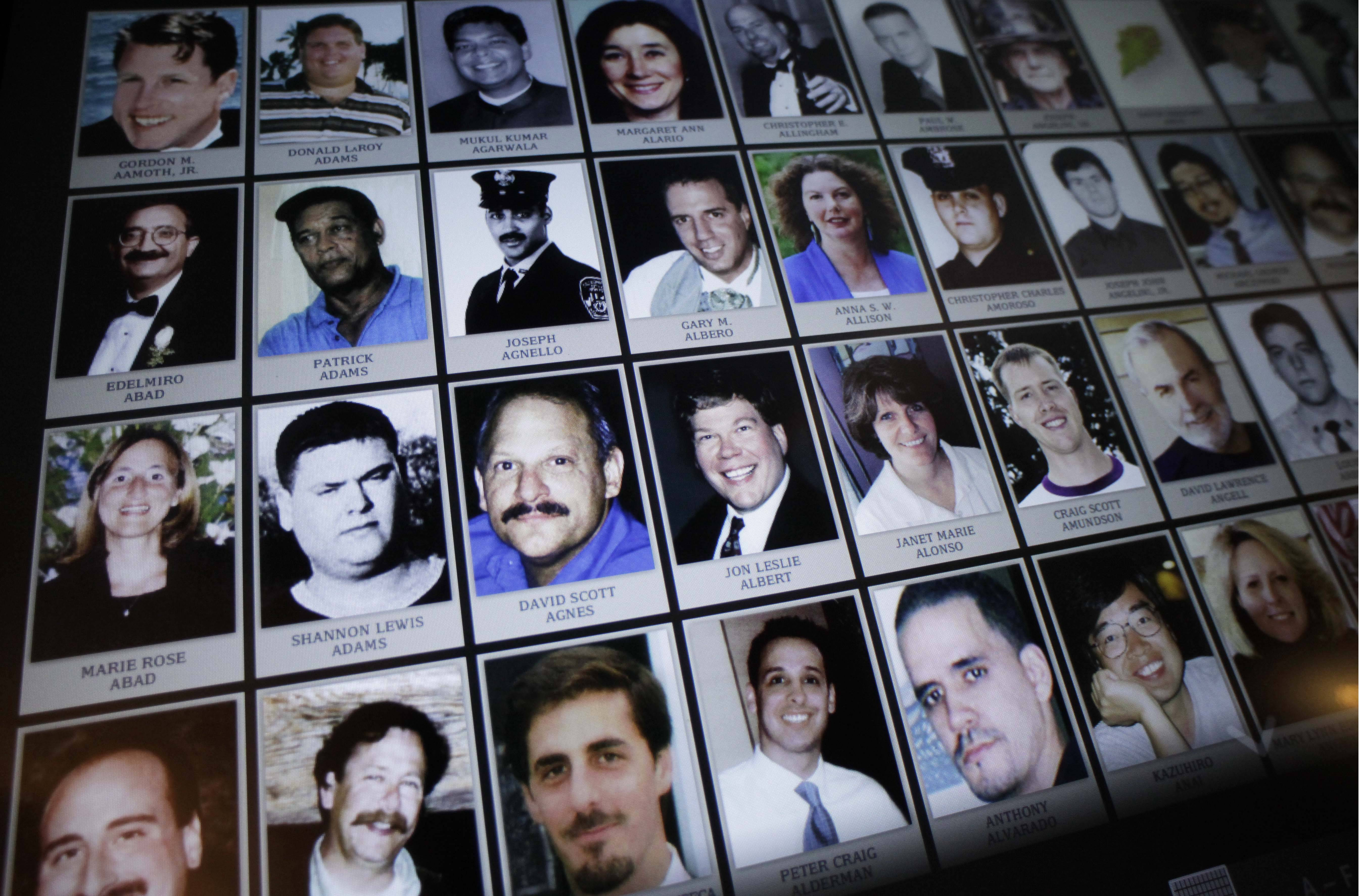 The soon-to-open Sept. 11 museum includes portraits and profiles of the nearly 3,000 people killed by the Sept. 11 attacks and the 1993 trade center bombing.