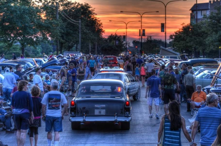 Mount Prospect Blues Mobile Cruise Nights last summer were a big hit.
