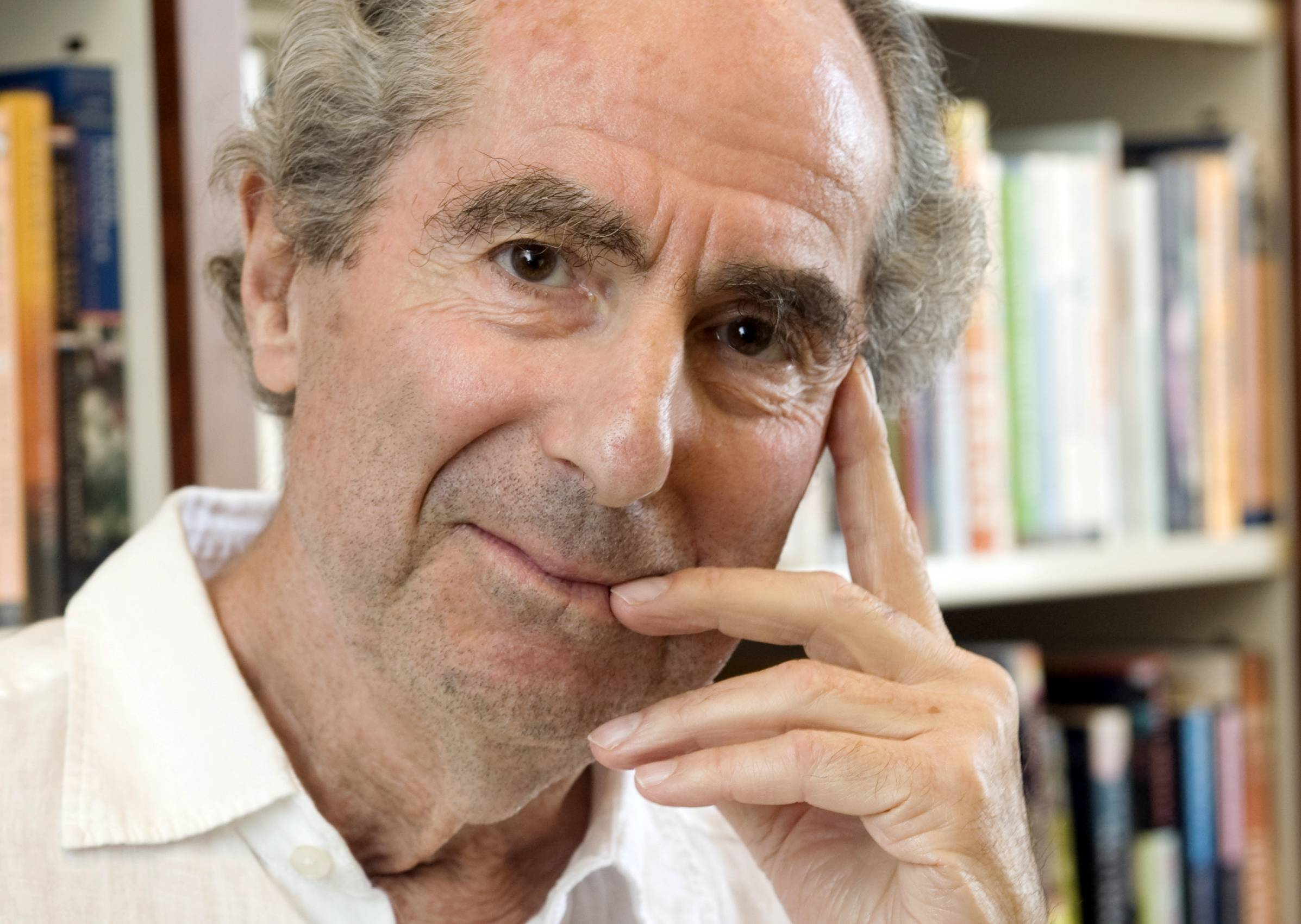 In what may be his last remarks at a public gathering, author Philip Roth has accepted Yaddo's first ever Artist Medal Wednesday May 14, 2014 and spoken gratefully of his time at the venerable retreat in the 1960s.