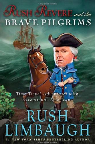 "Rush Limbaugh won for his best-selling ""Rush Revere and the Brave Pilgrims."""
